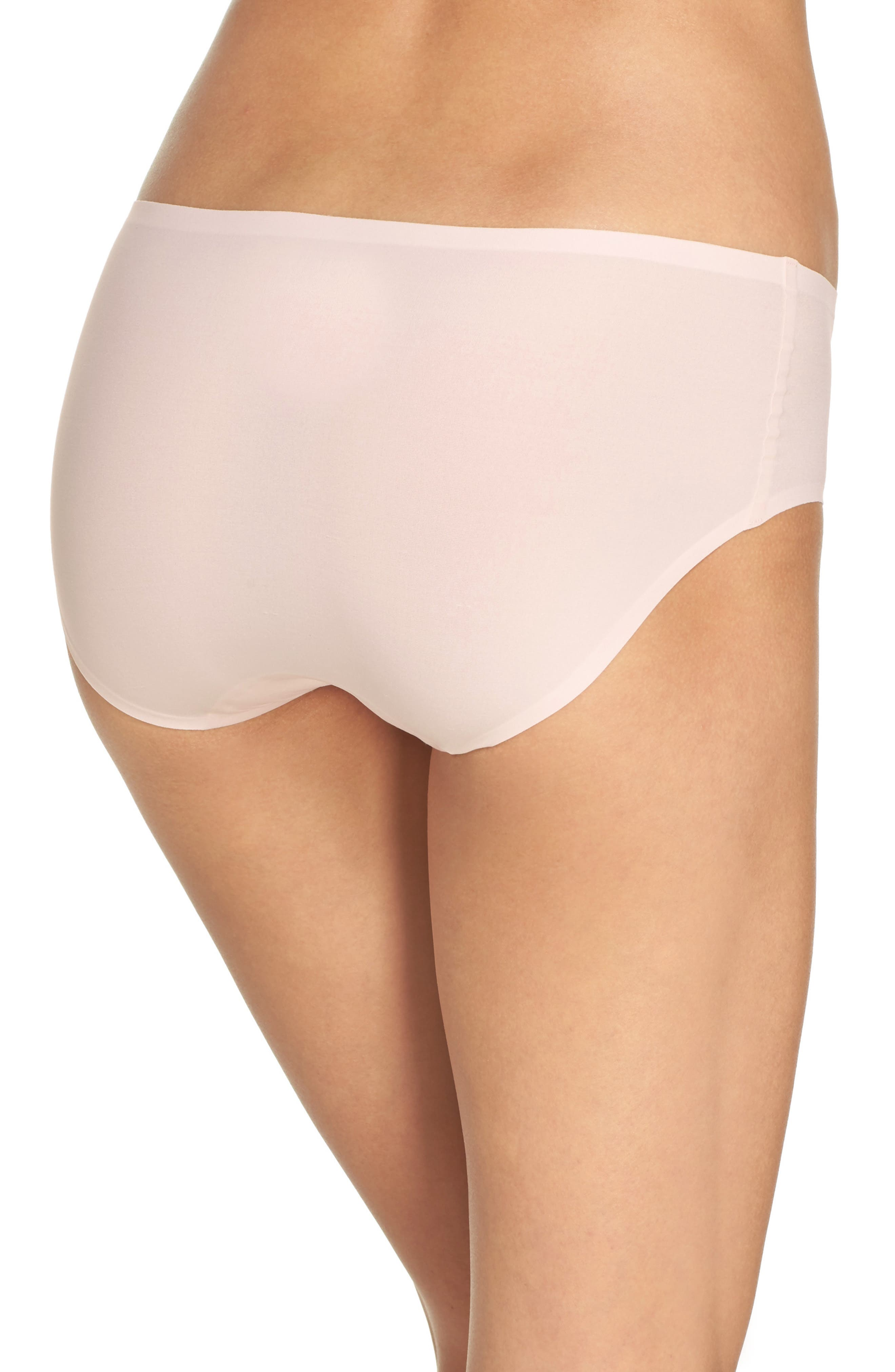 Alternate Image 2  - Chantelle Intimates Soft Stretch Seamless Hipster Panties (3 for $45)
