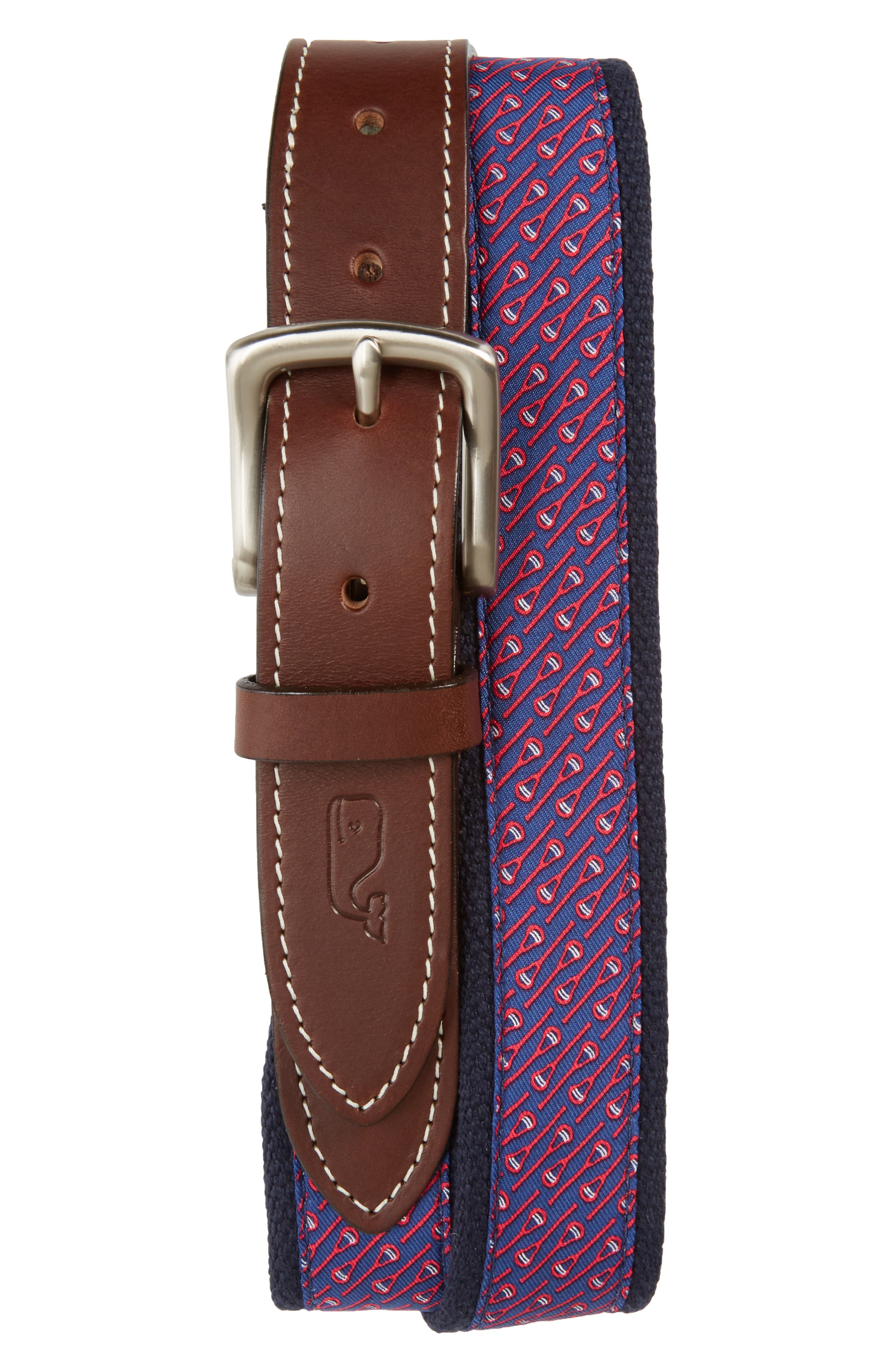Neon Lax Belt,                         Main,                         color, Coral Red