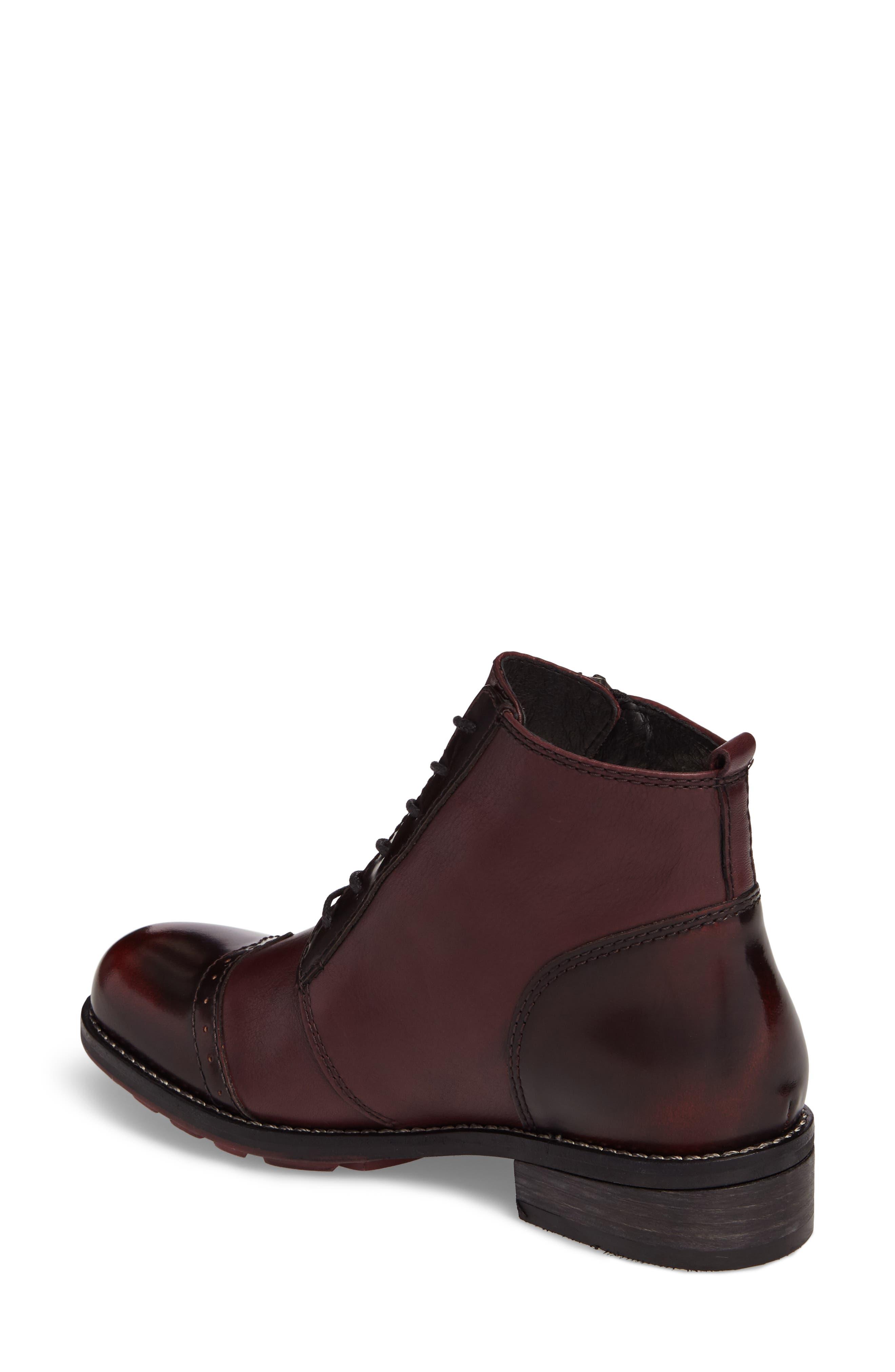 Millstream Boot,                             Alternate thumbnail 2, color,                             Bordo Leather