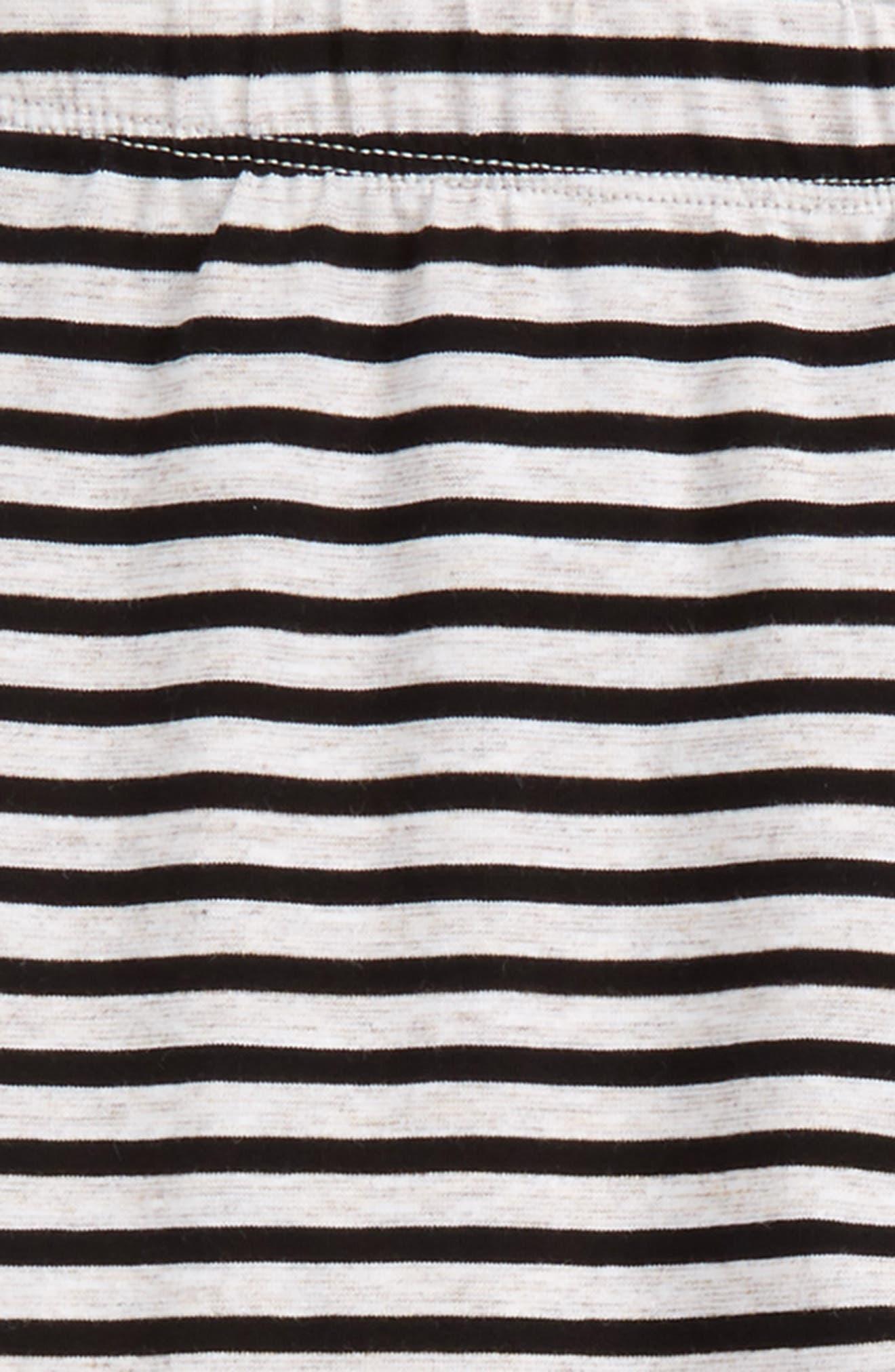 Alternate Image 2  - Truly Me Stripe Leggings (Toddler Girls & Little Girls)