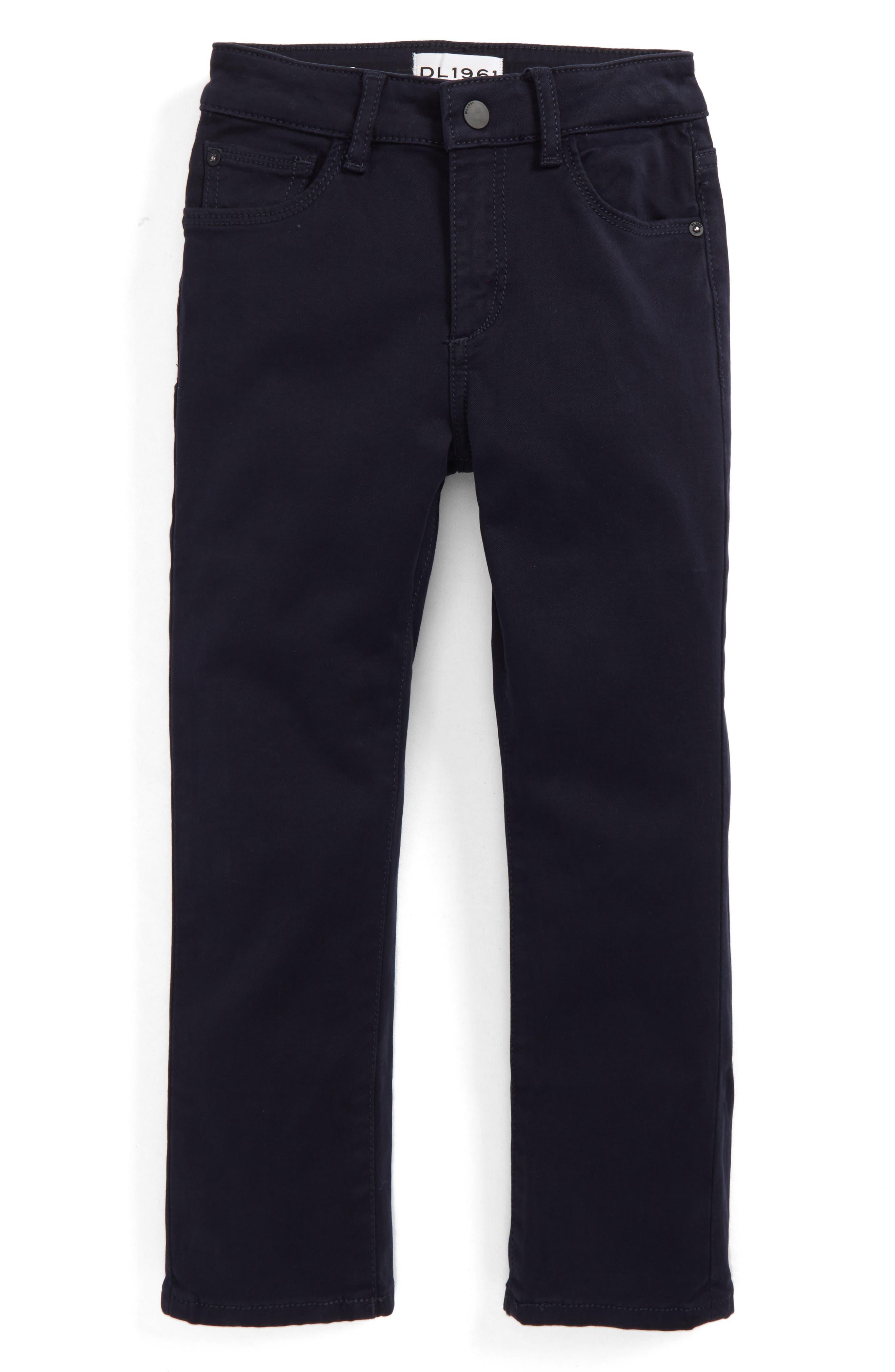 DL1961 Brady Slim Fit Twill Pants (Toddler Boys & Little Boys)