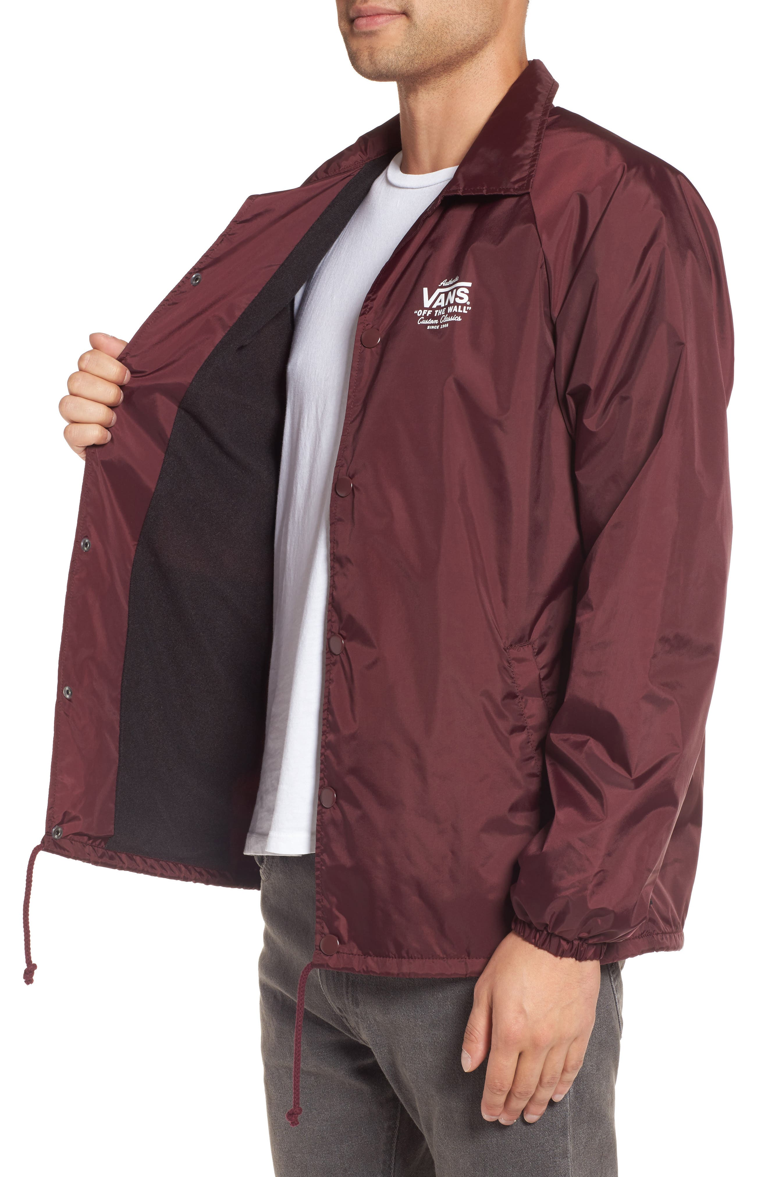 Torrey Water Resistant Jacket,                             Alternate thumbnail 3, color,                             Port Royale/ White