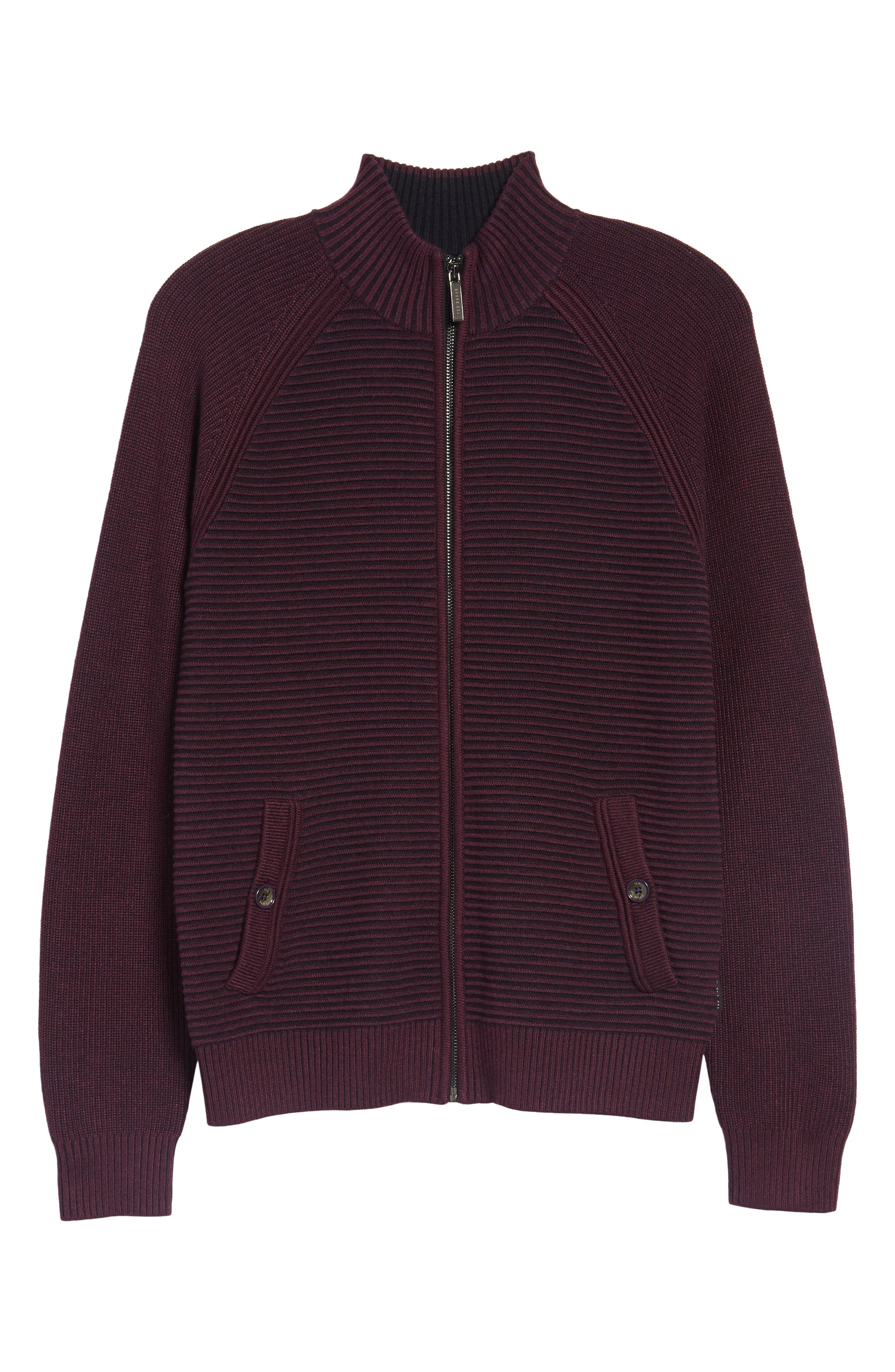 Alternate Image 5  - Ted Baker London Modern Slim Fit Raglan Sweater