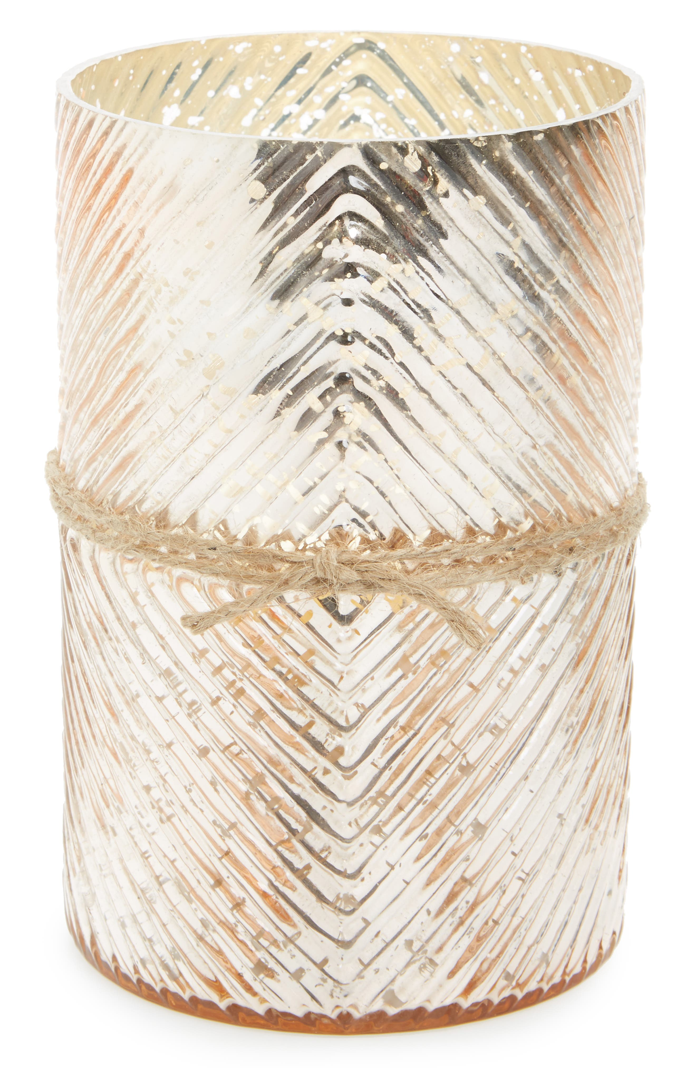 Diamond Scented Hurricane Candle,                         Main,                         color, Bougainvillea