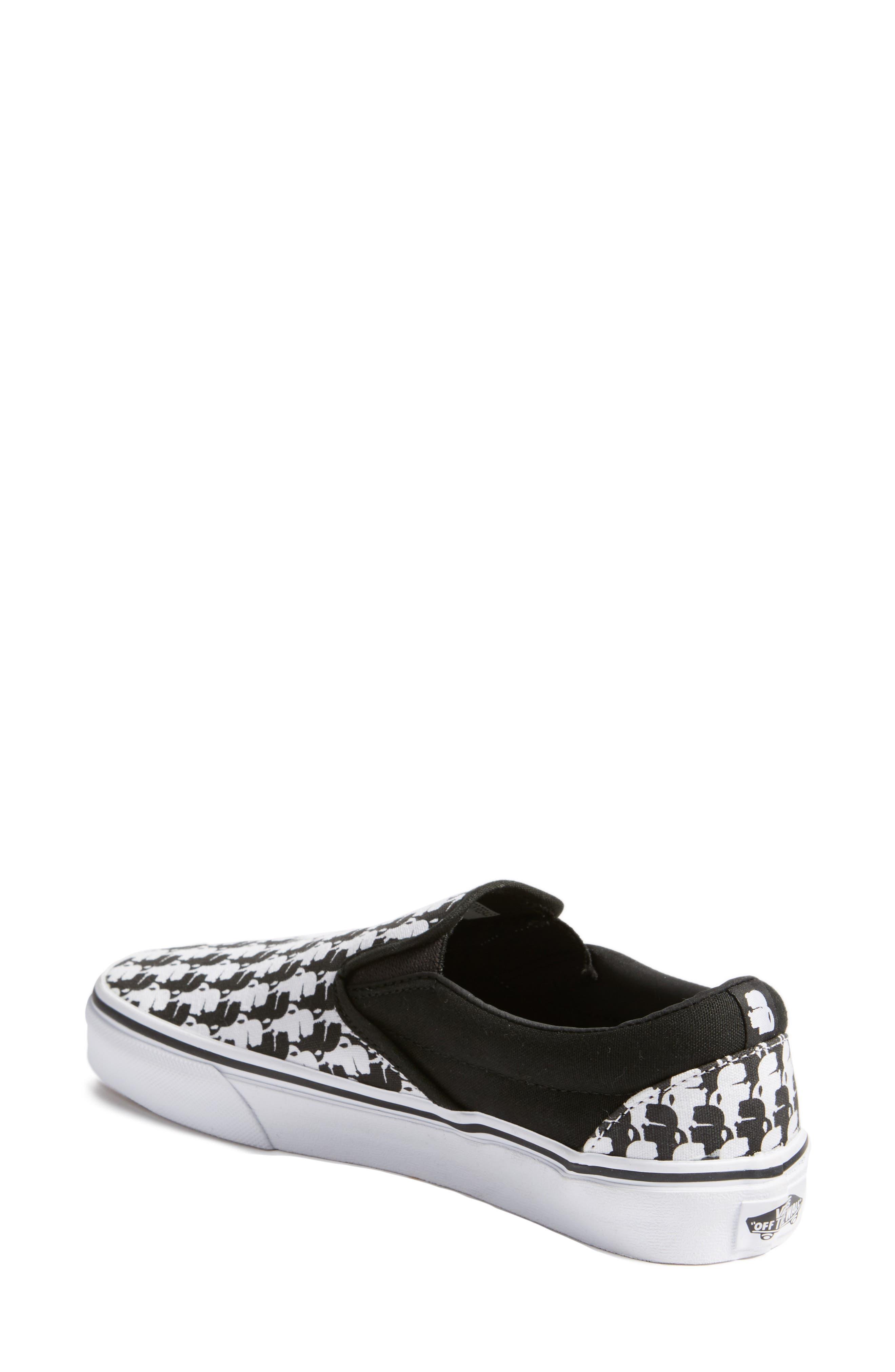 Alternate Image 2  - Vans x KARL LAGERFELD Houndstooth Slip-On Sneaker (Women)