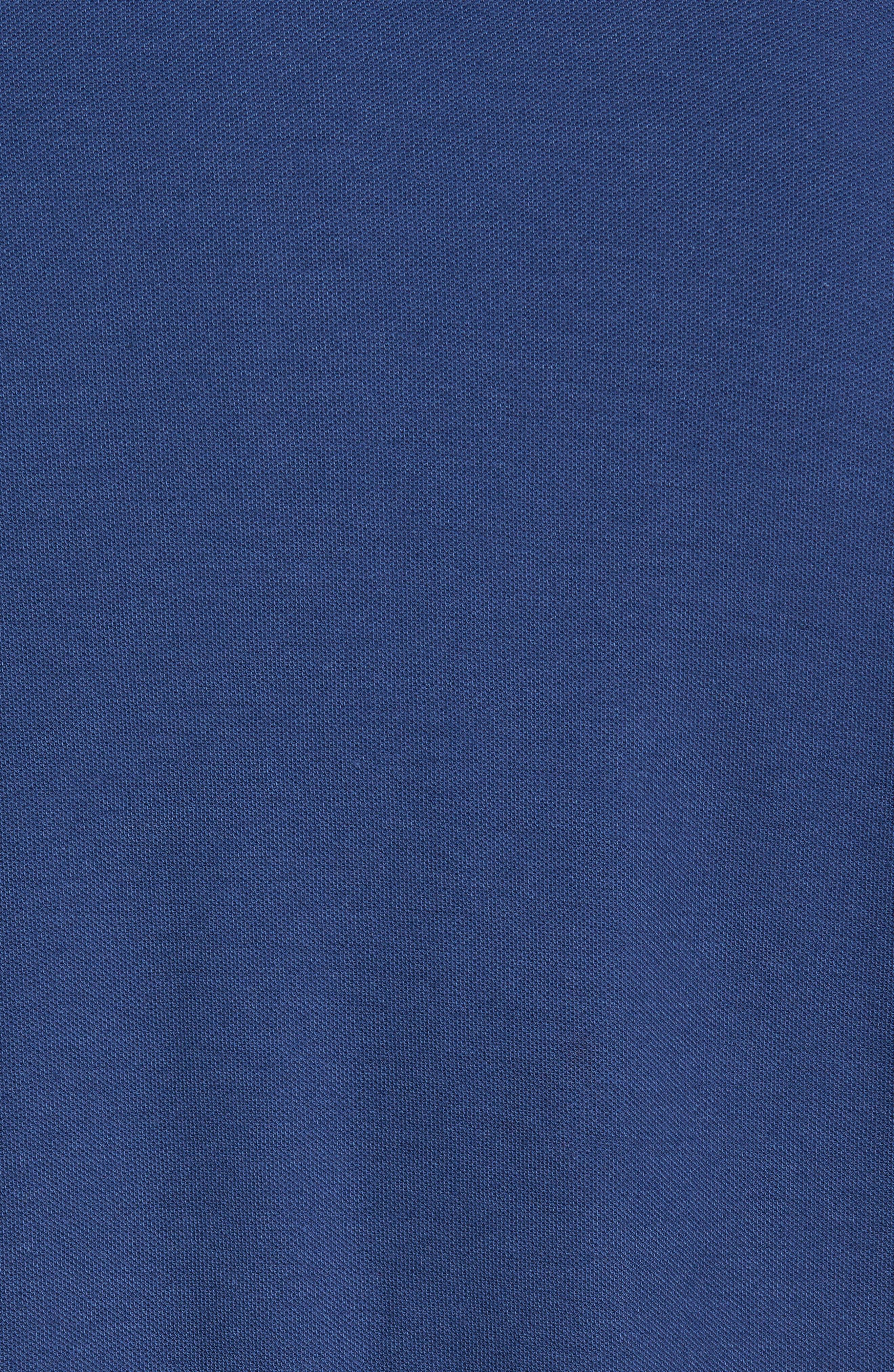 Tropicool Spectator Piqué Polo,                             Alternate thumbnail 5, color,                             Bering Blue