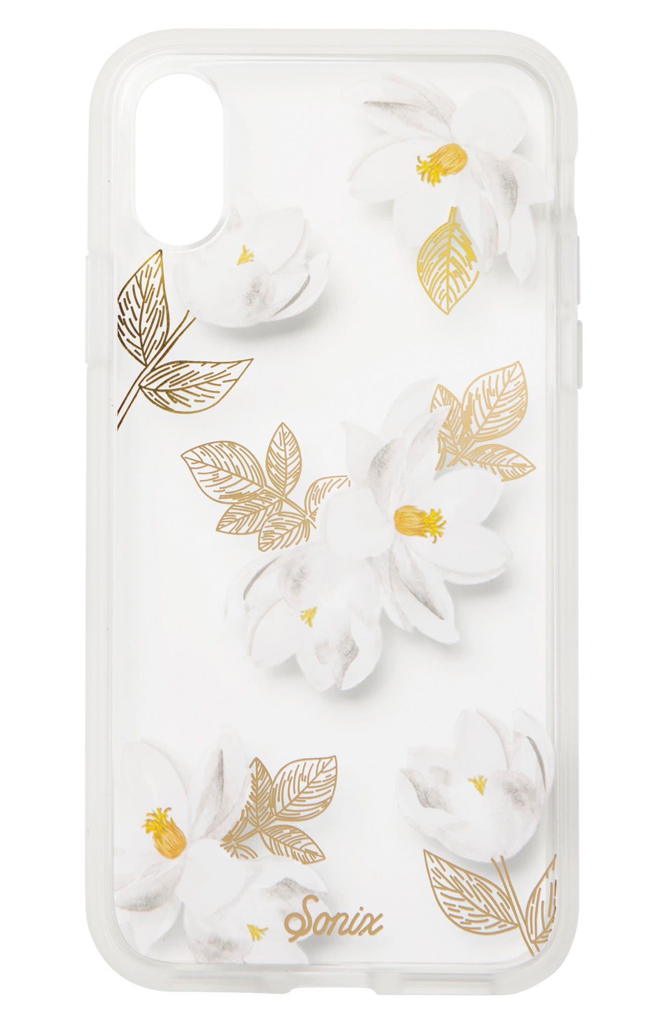 Sonix Oleander Print iPhone X Case