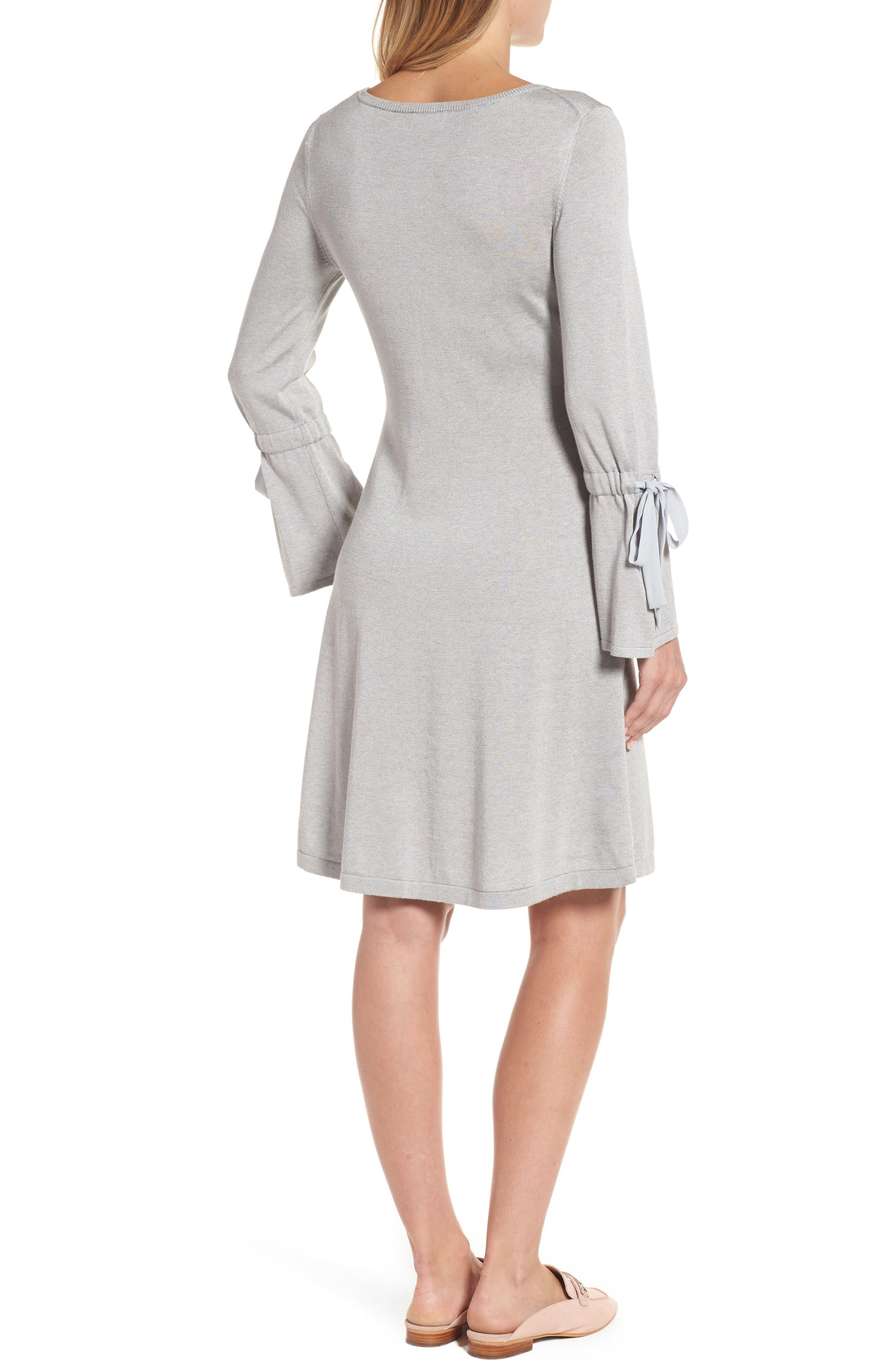 Alternate Image 3  - CeCe Bell Sleeve Sweater Dress