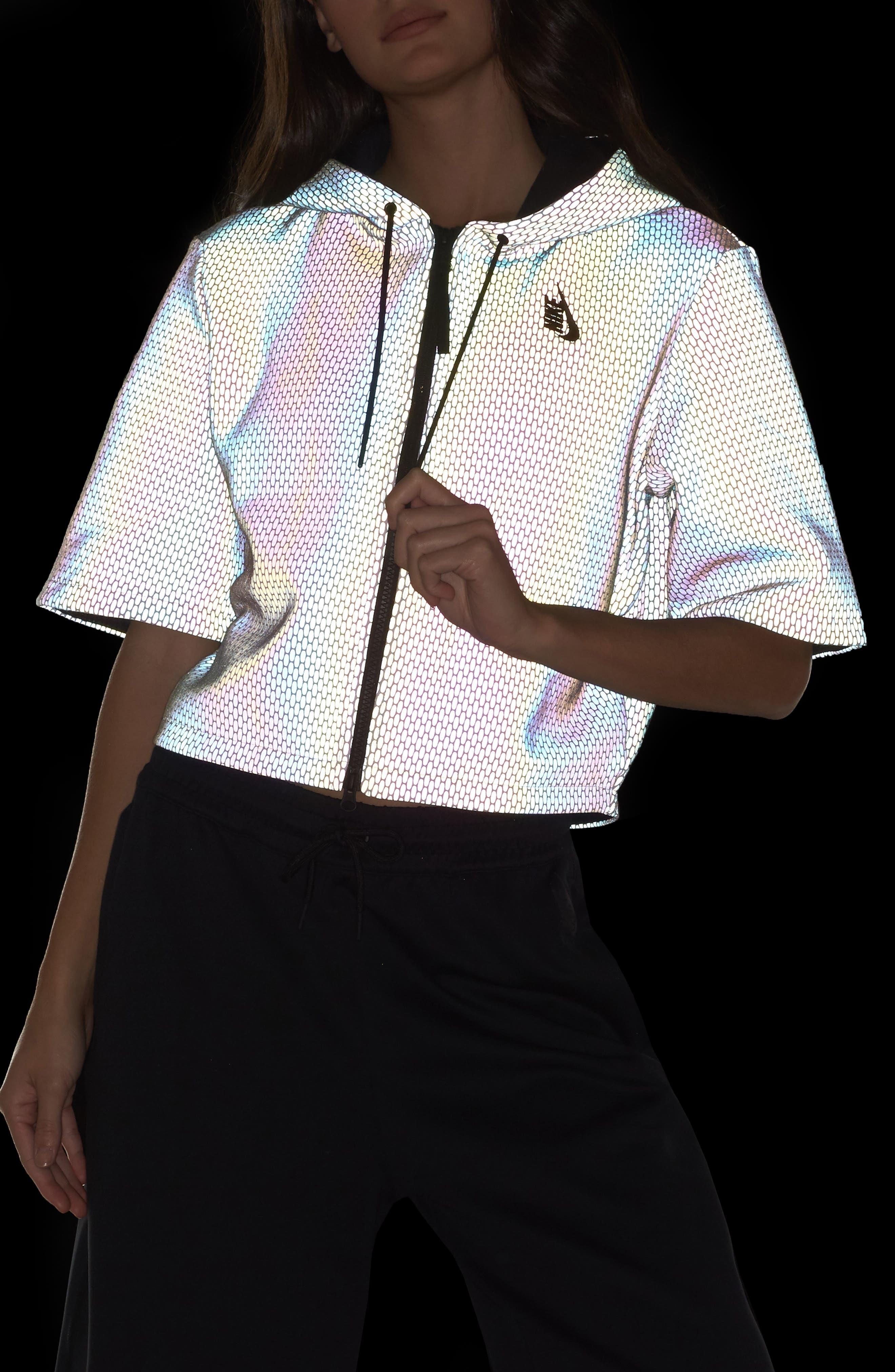 Alternate Image 11  - Nike NikeLab Oil Slick Hoodie