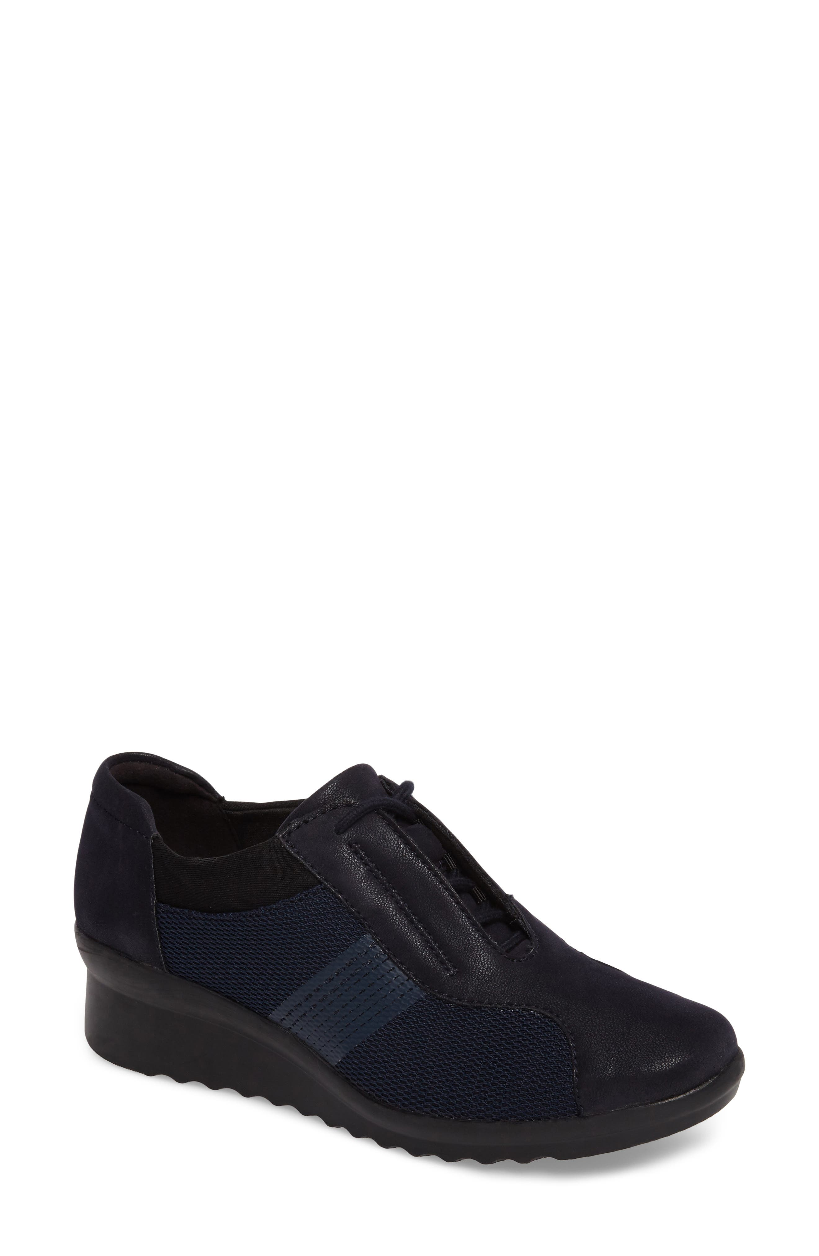 Alternate Image 1 Selected - Clarks® Caddell Fly Sneaker (Women)
