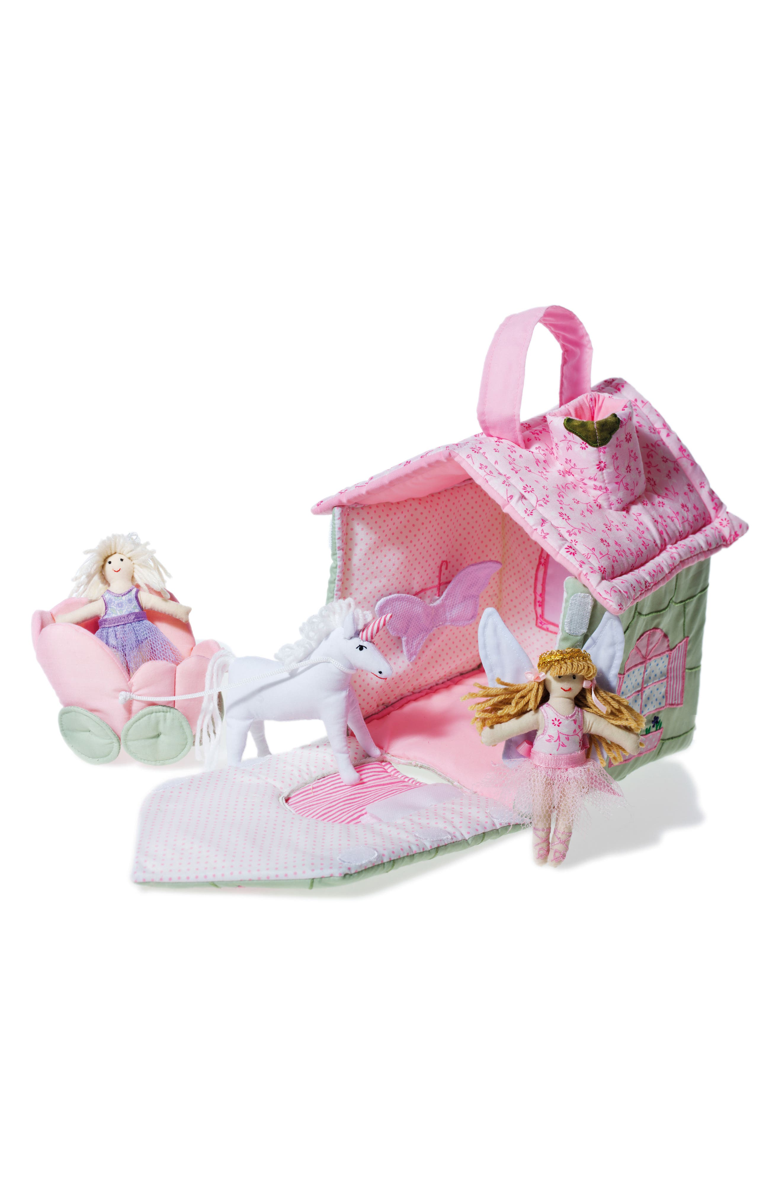 Fairy Cottage,                         Main,                         color, Pink