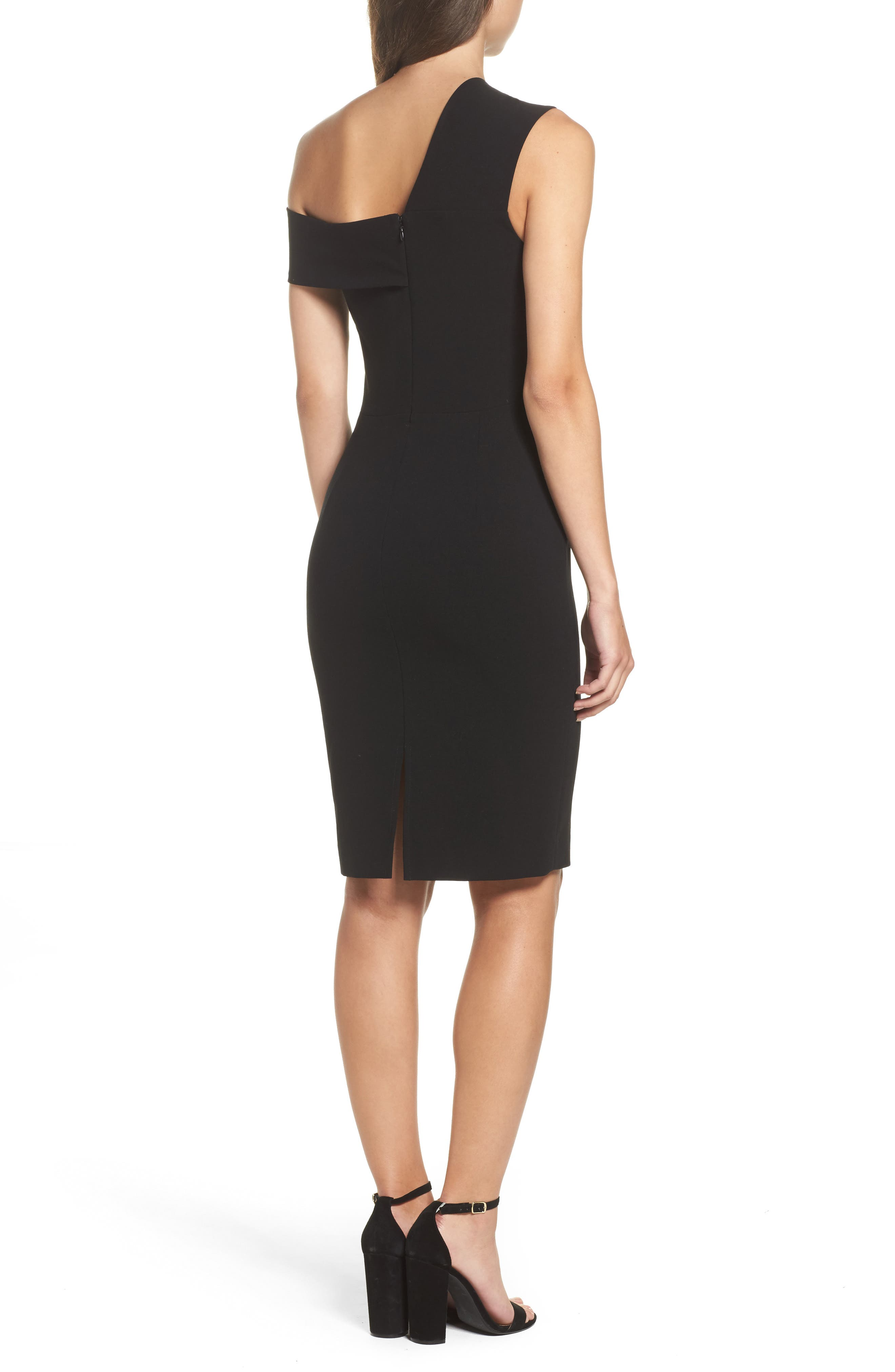 Alternate Image 2  - French Connection Whisper Ruth Off the Shoulder Sheath Dress