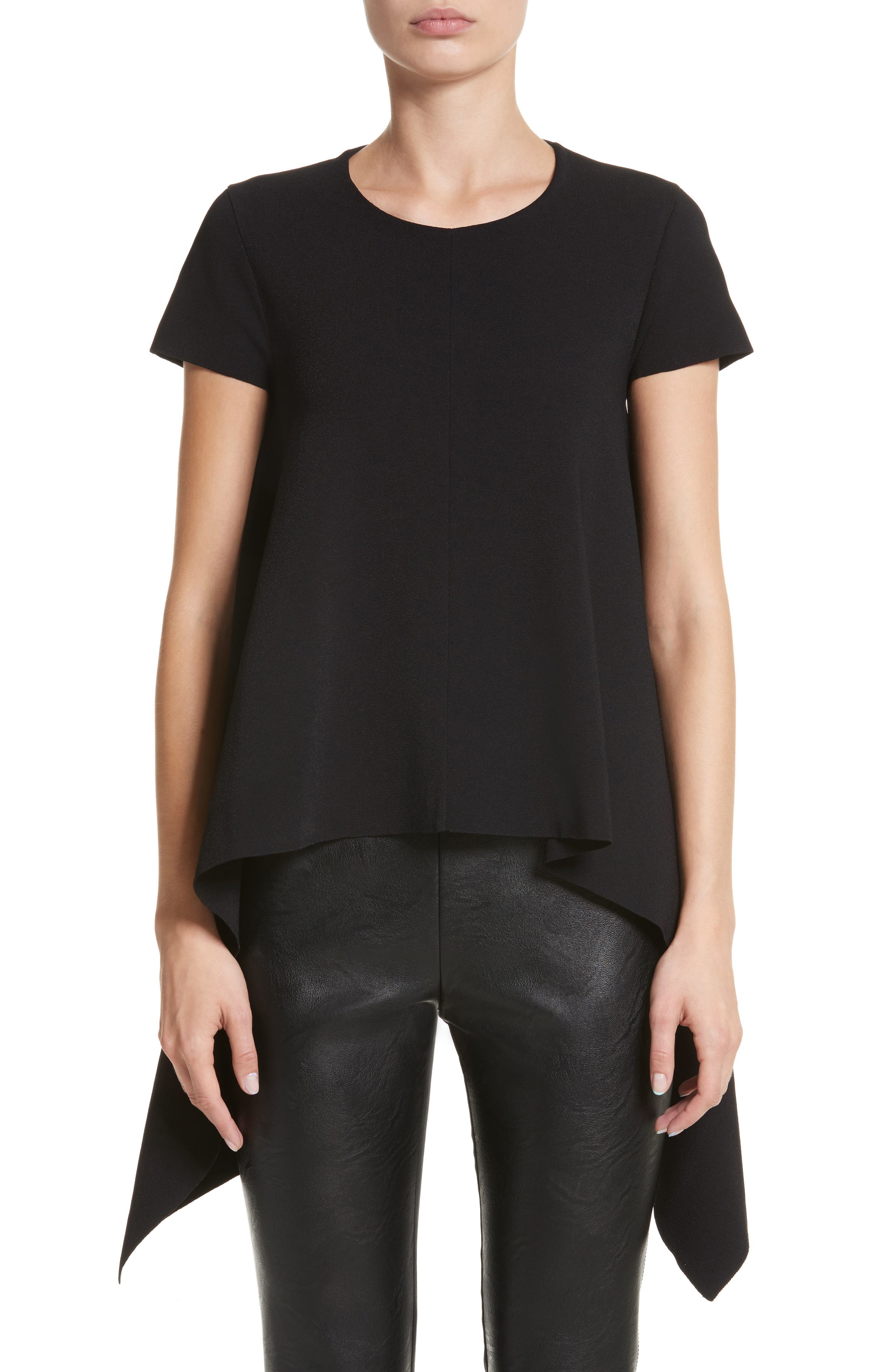 Cutaway Top,                         Main,                         color, Black