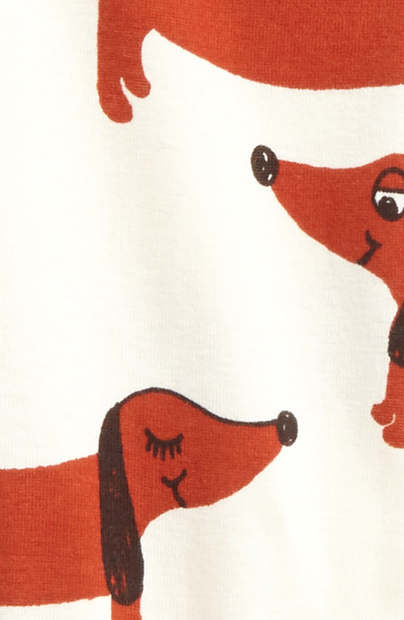 Alternate Image 2  - Mini Rodini Dog Leggings (Baby Boys)