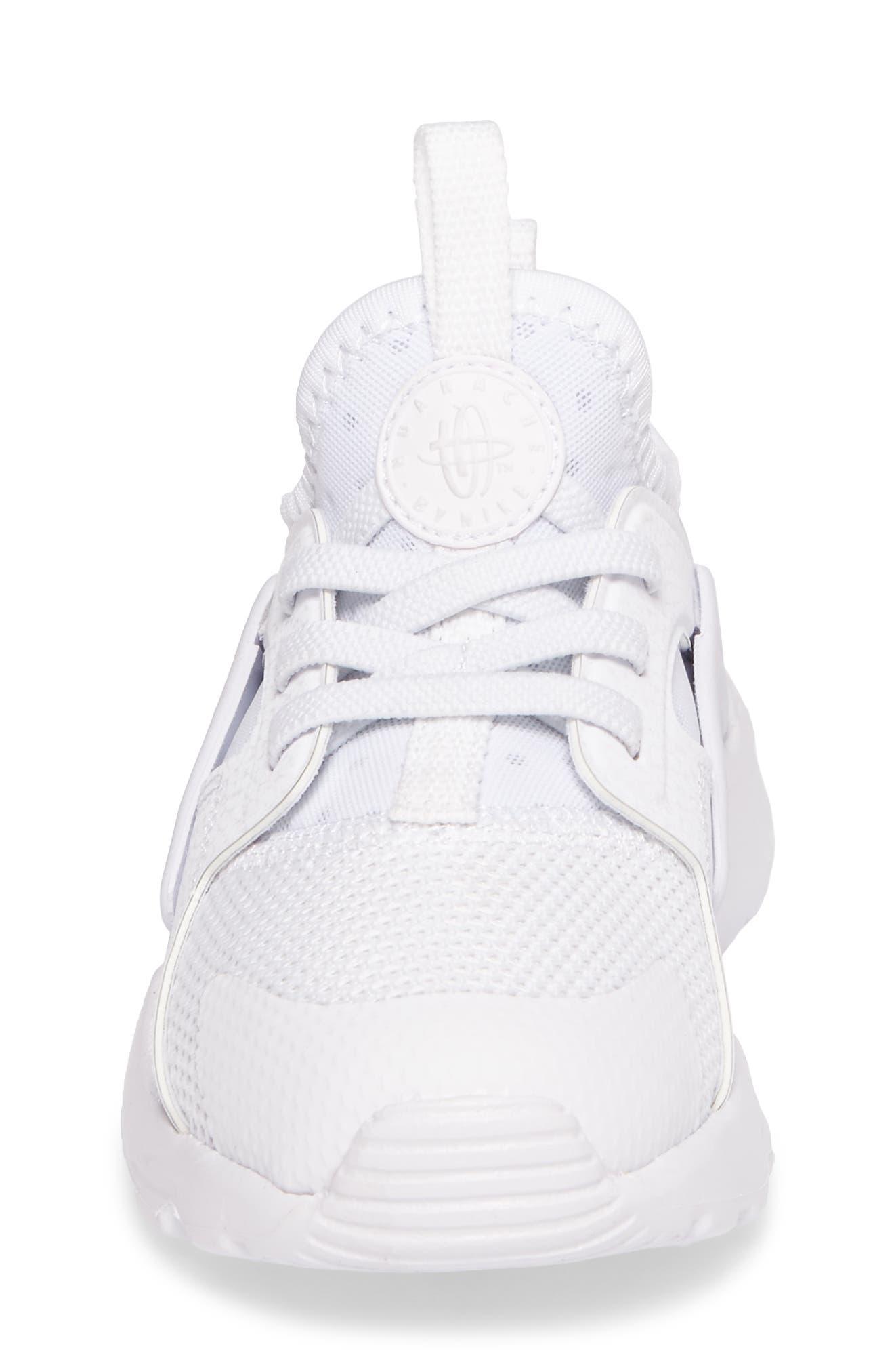 Alternate Image 4  - Nike Huarache Run Ultra Sneaker (Baby, Walker & Toddler)