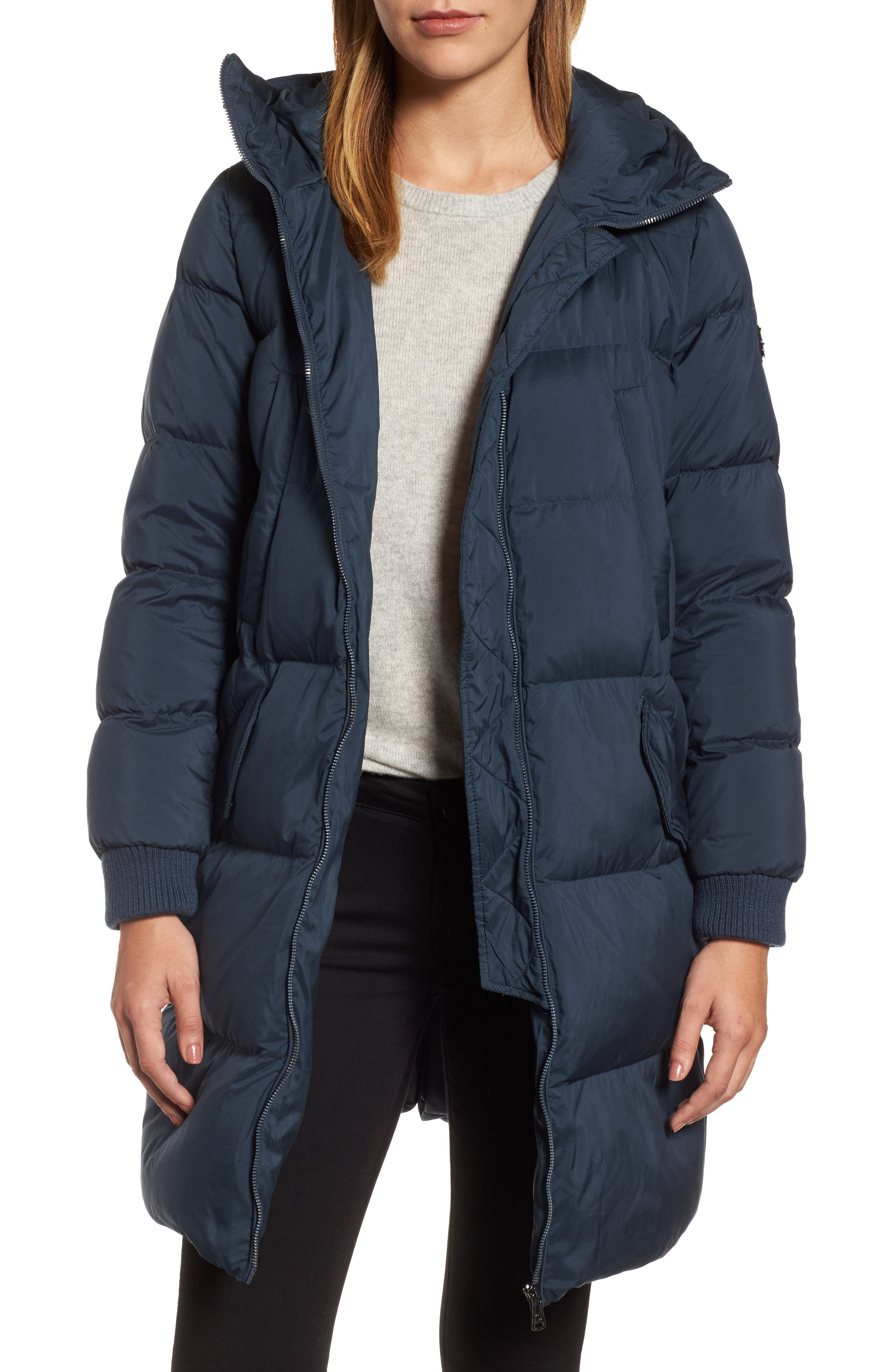 Bernardo Quilted Down Jacket