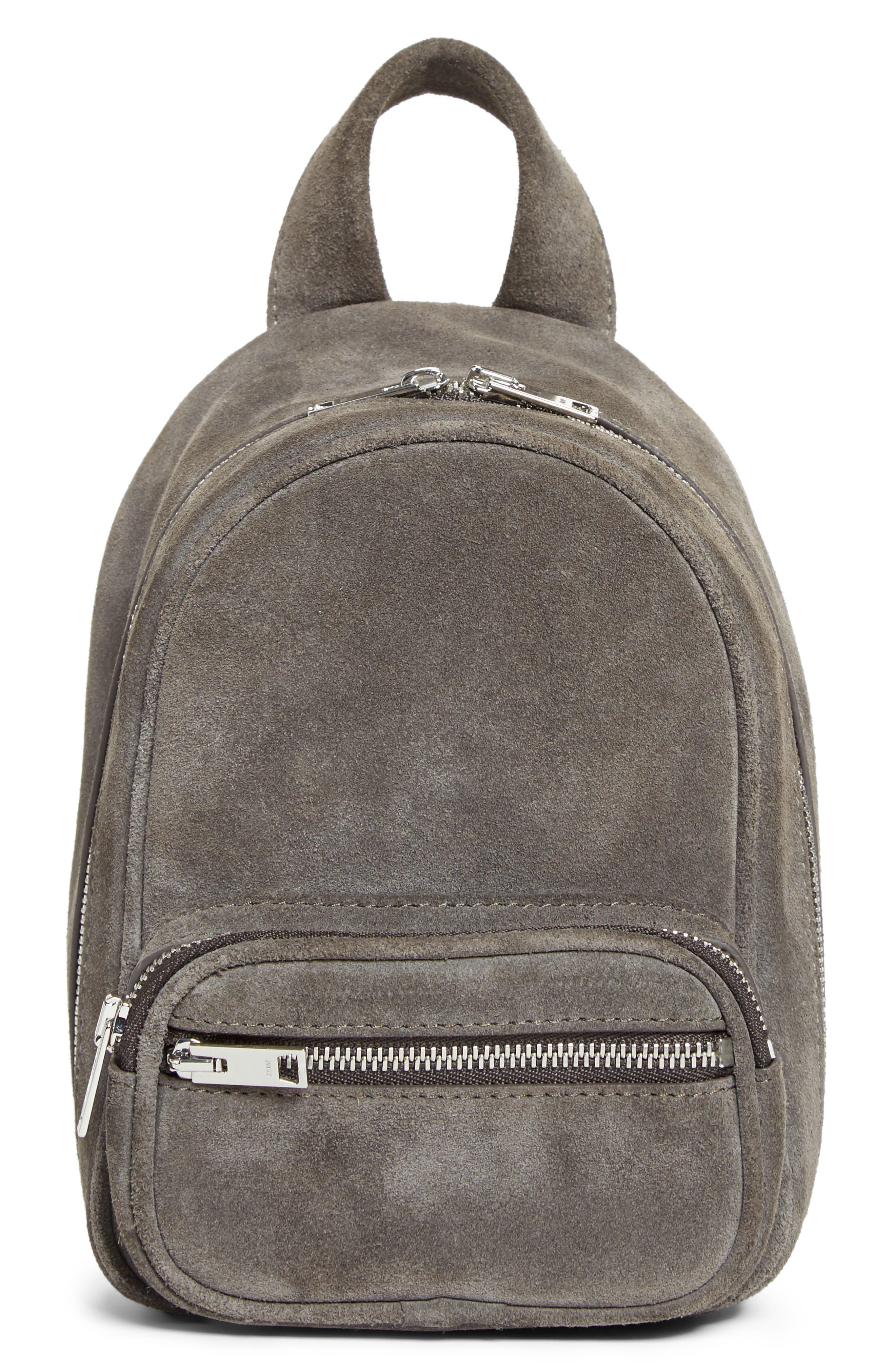 Alternate Image 1 Selected - Alexander Wang Mini Attica Leather Crossbody Backpack