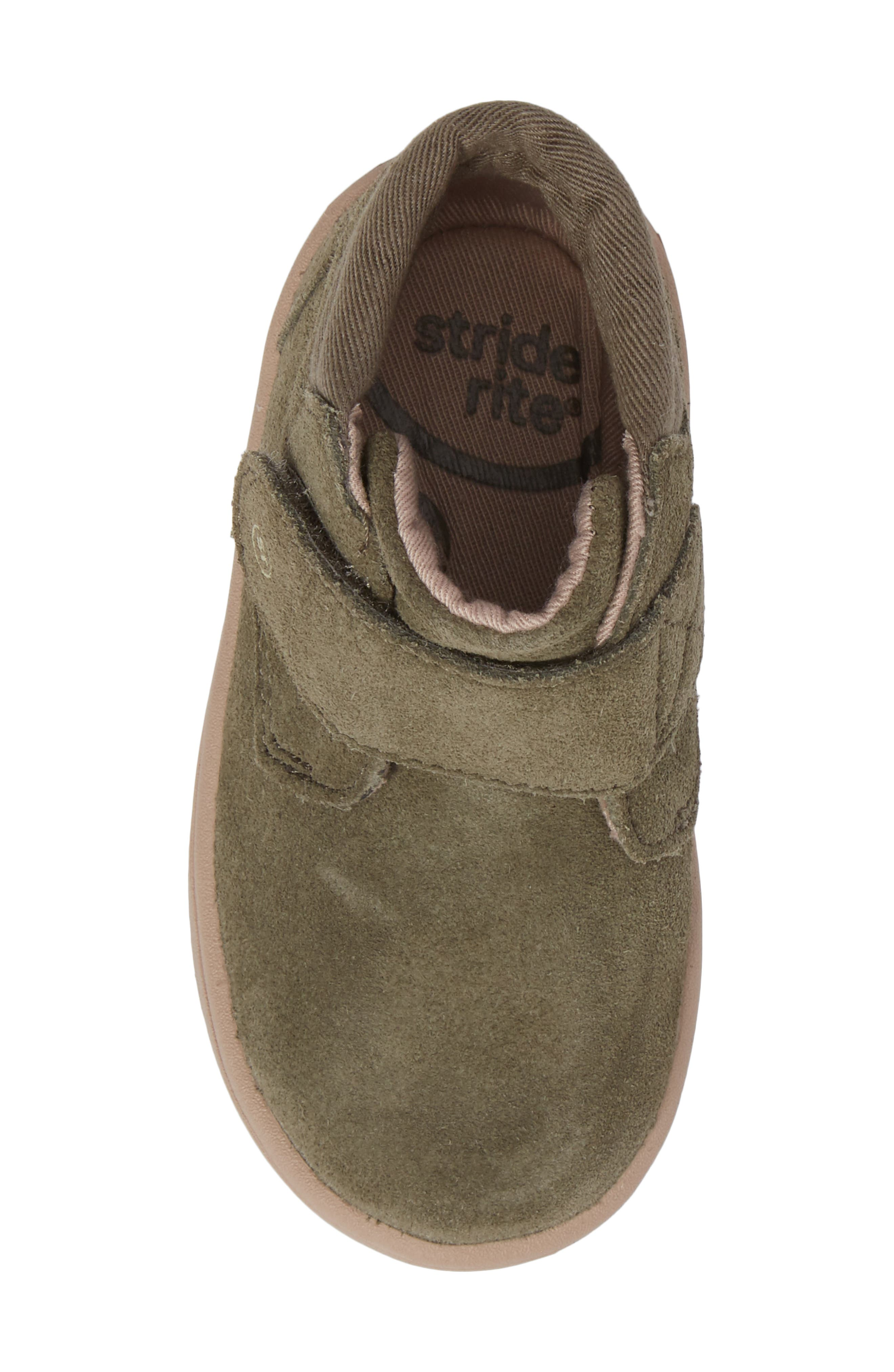 SRtech<sup>™</sup> Lincoln Bootie,                             Alternate thumbnail 5, color,                             Dark Green Suede