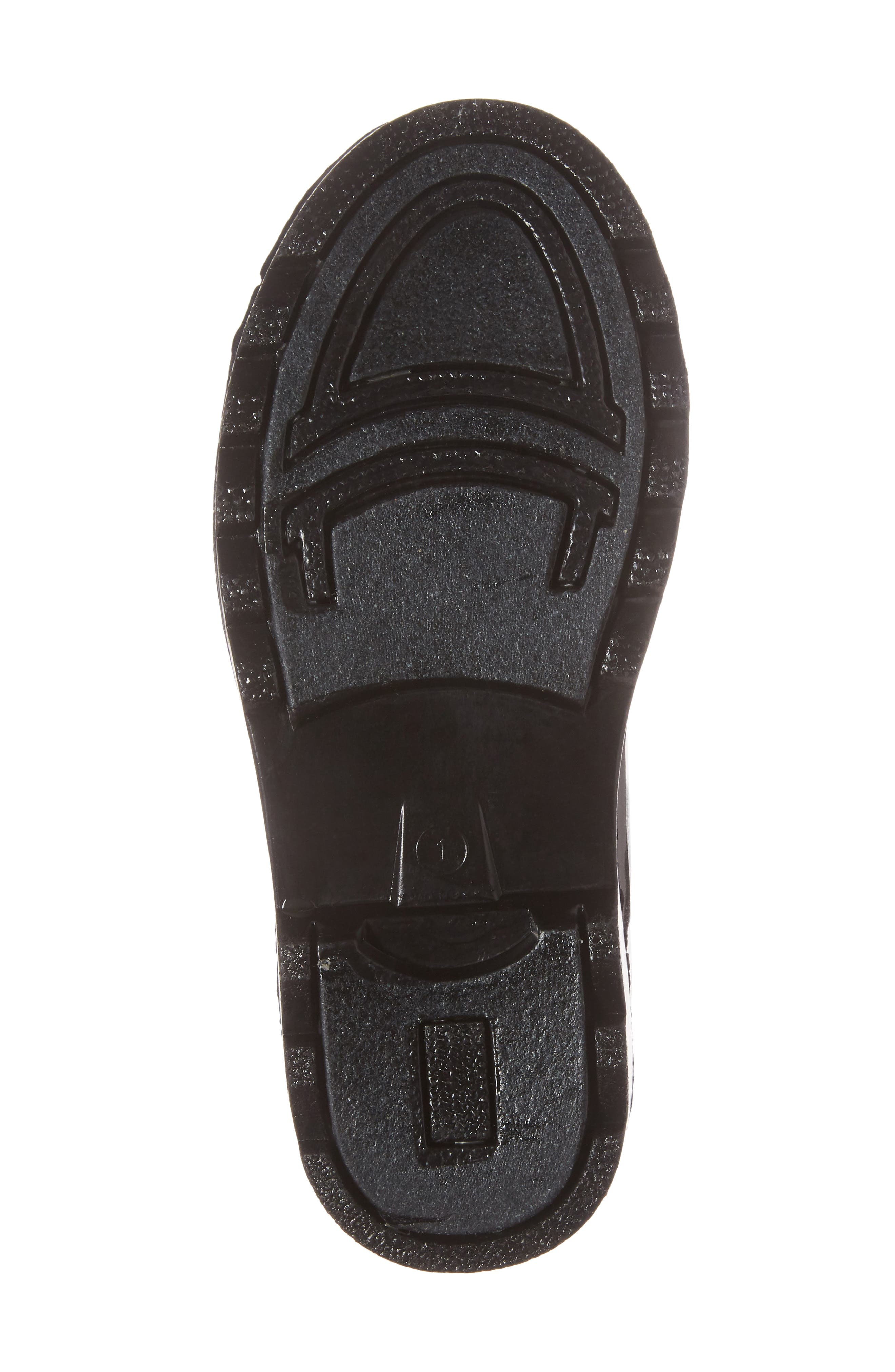 Tractor Tough Rain Boot,                             Alternate thumbnail 6, color,                             Black