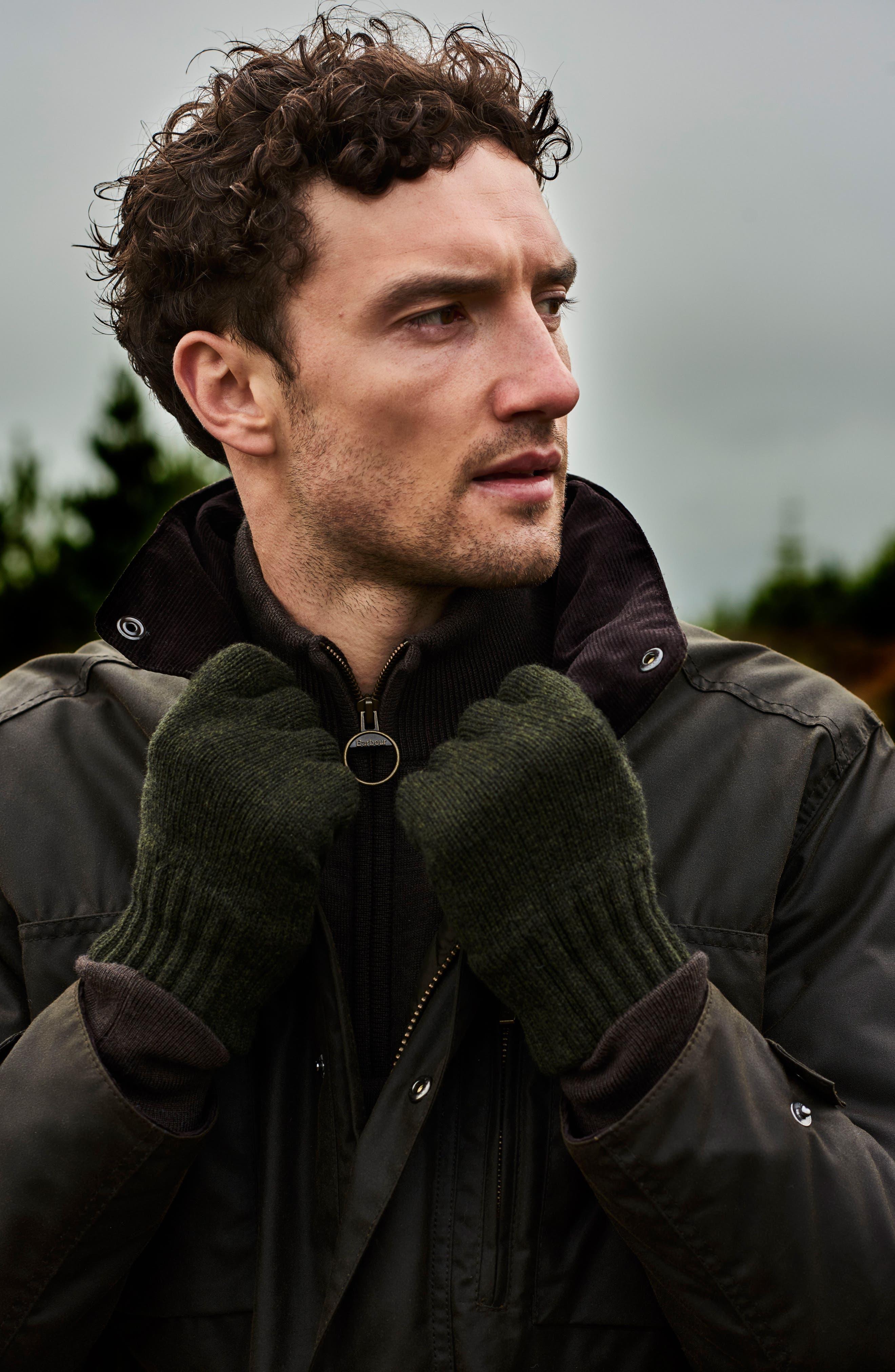 Alternate Image 8  - Barbour 'Sapper' Regular Fit Waterproof Waxed Cotton Jacket