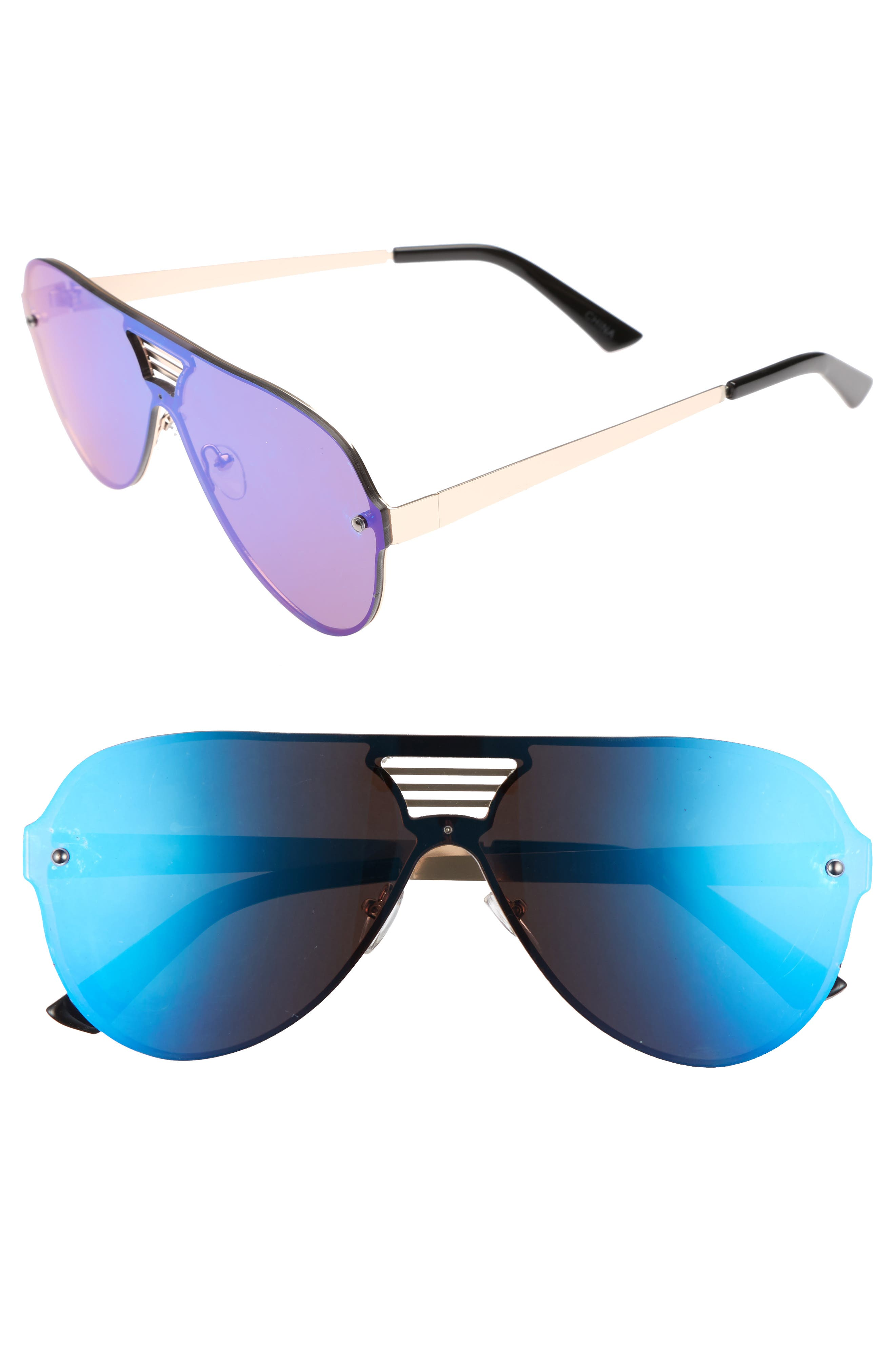 Leith The Grill 58mm Sunglasses