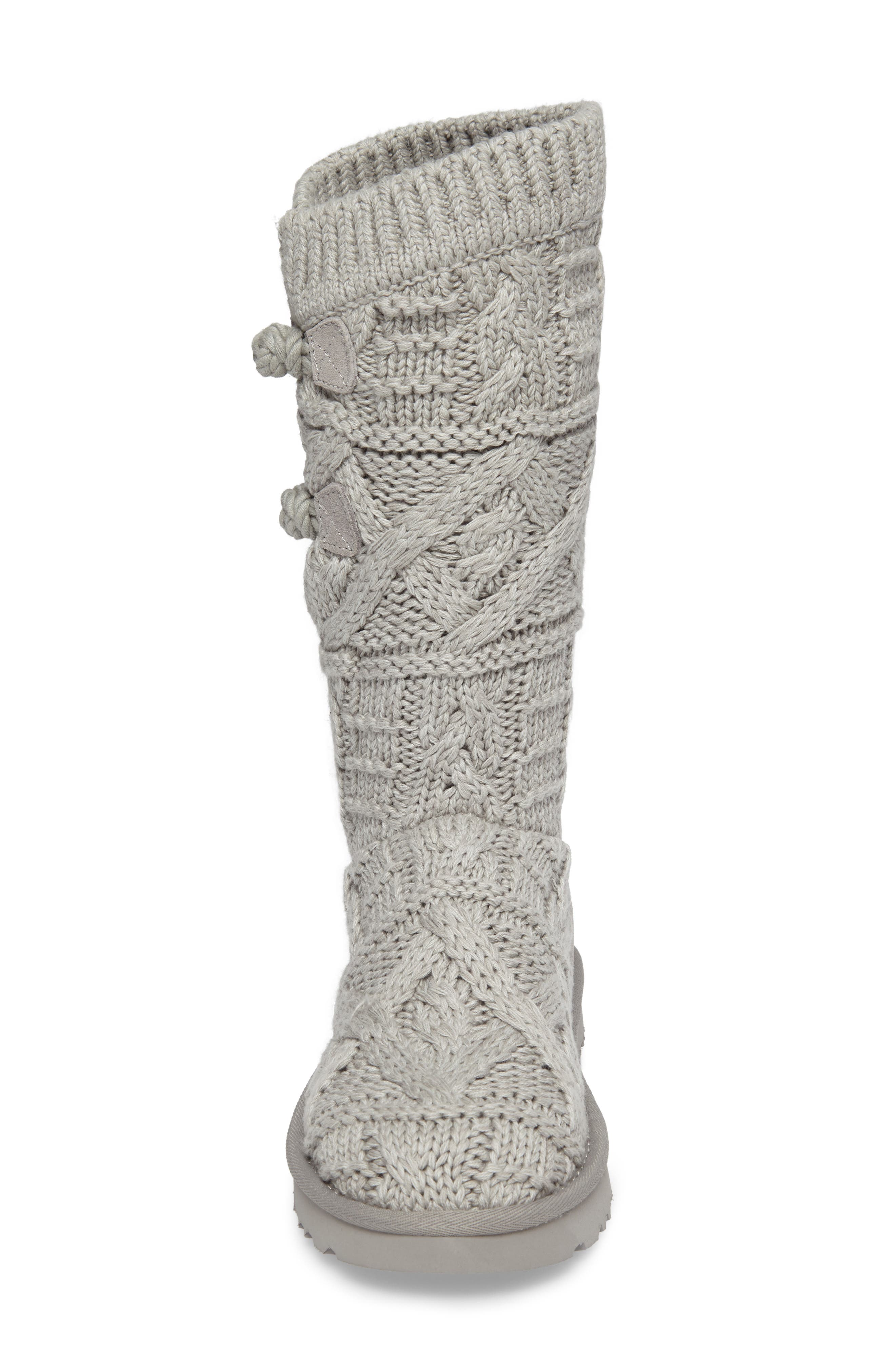 Kalla Boot,                             Alternate thumbnail 4, color,                             Seal Fabric