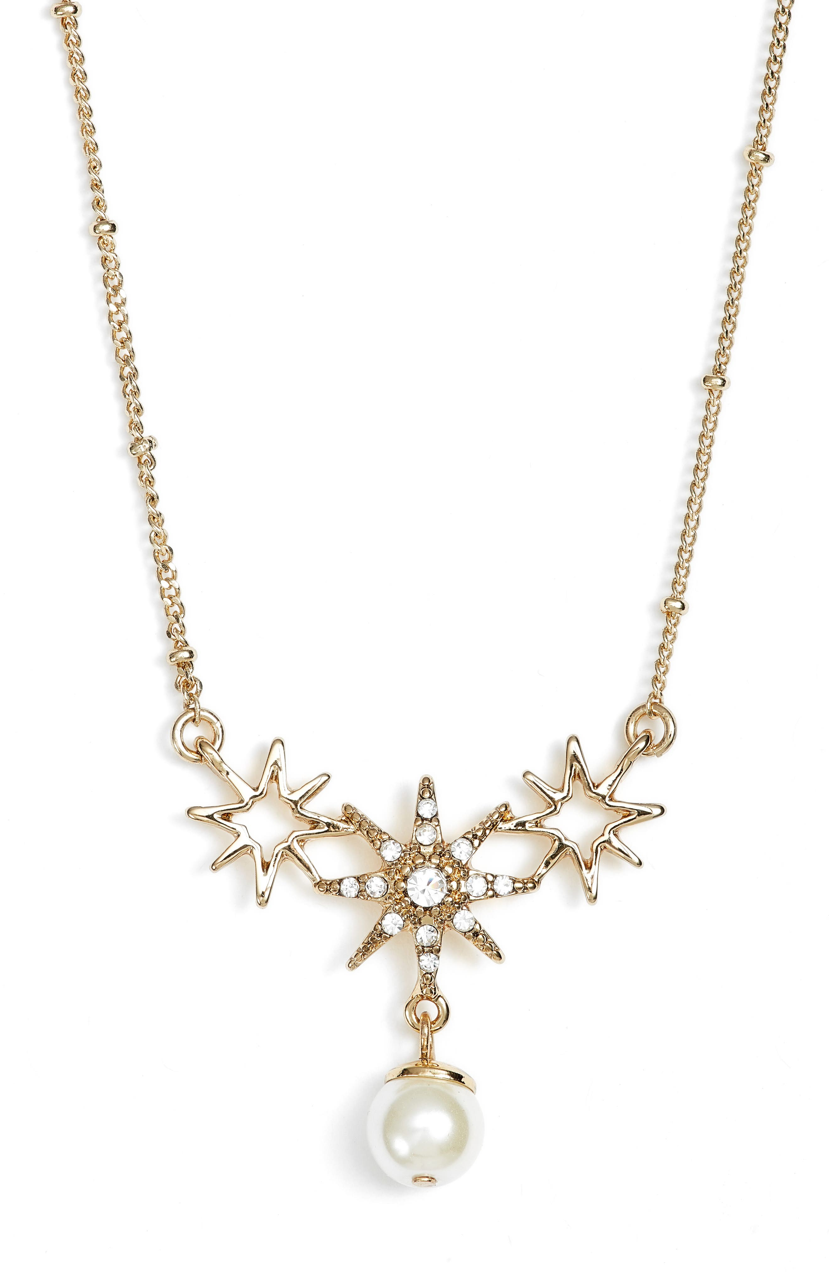 Jenny Packham Star Pendant Necklace