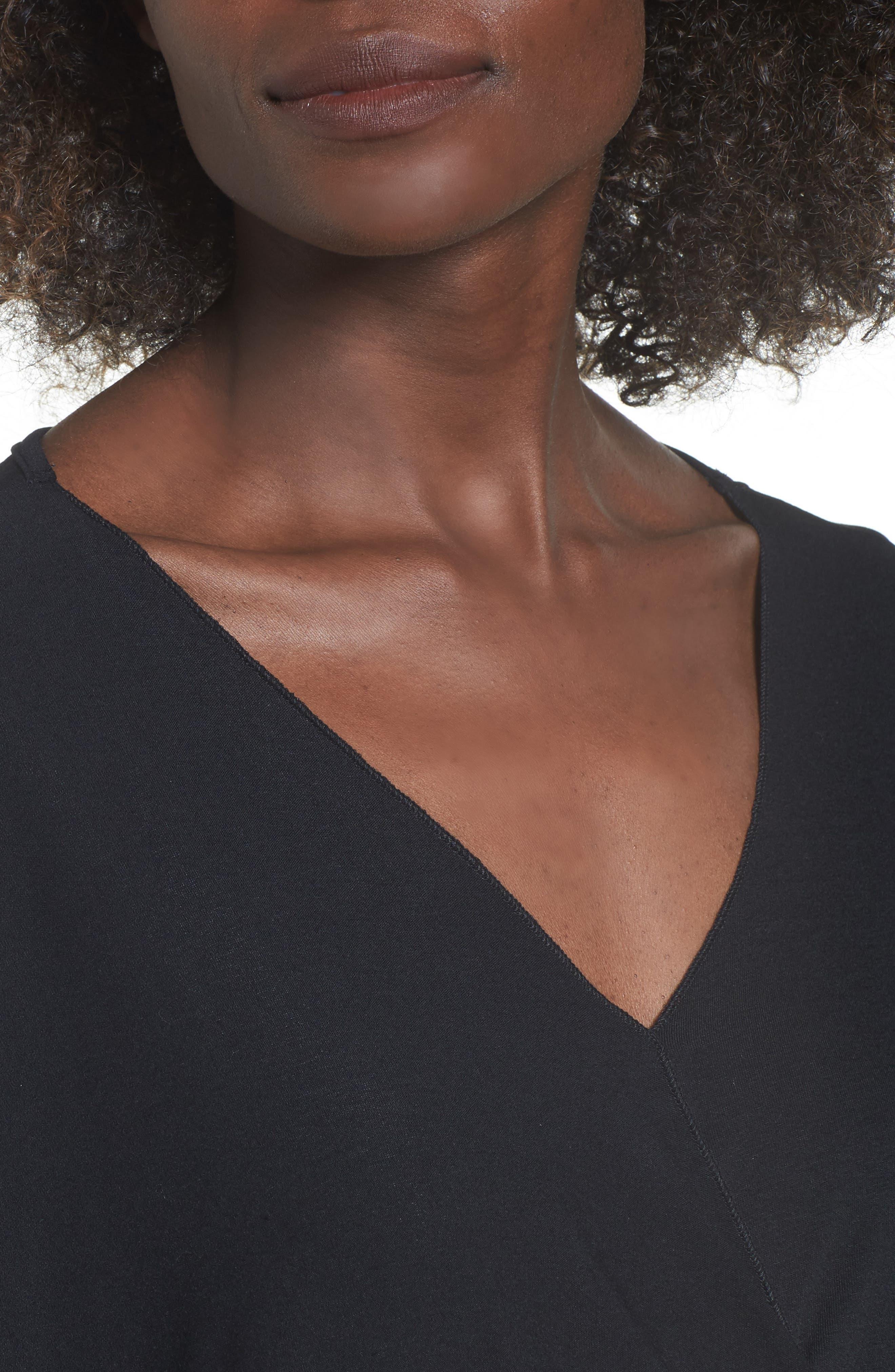 Alternate Image 4  - Lira Clothing Modern Surplice Top