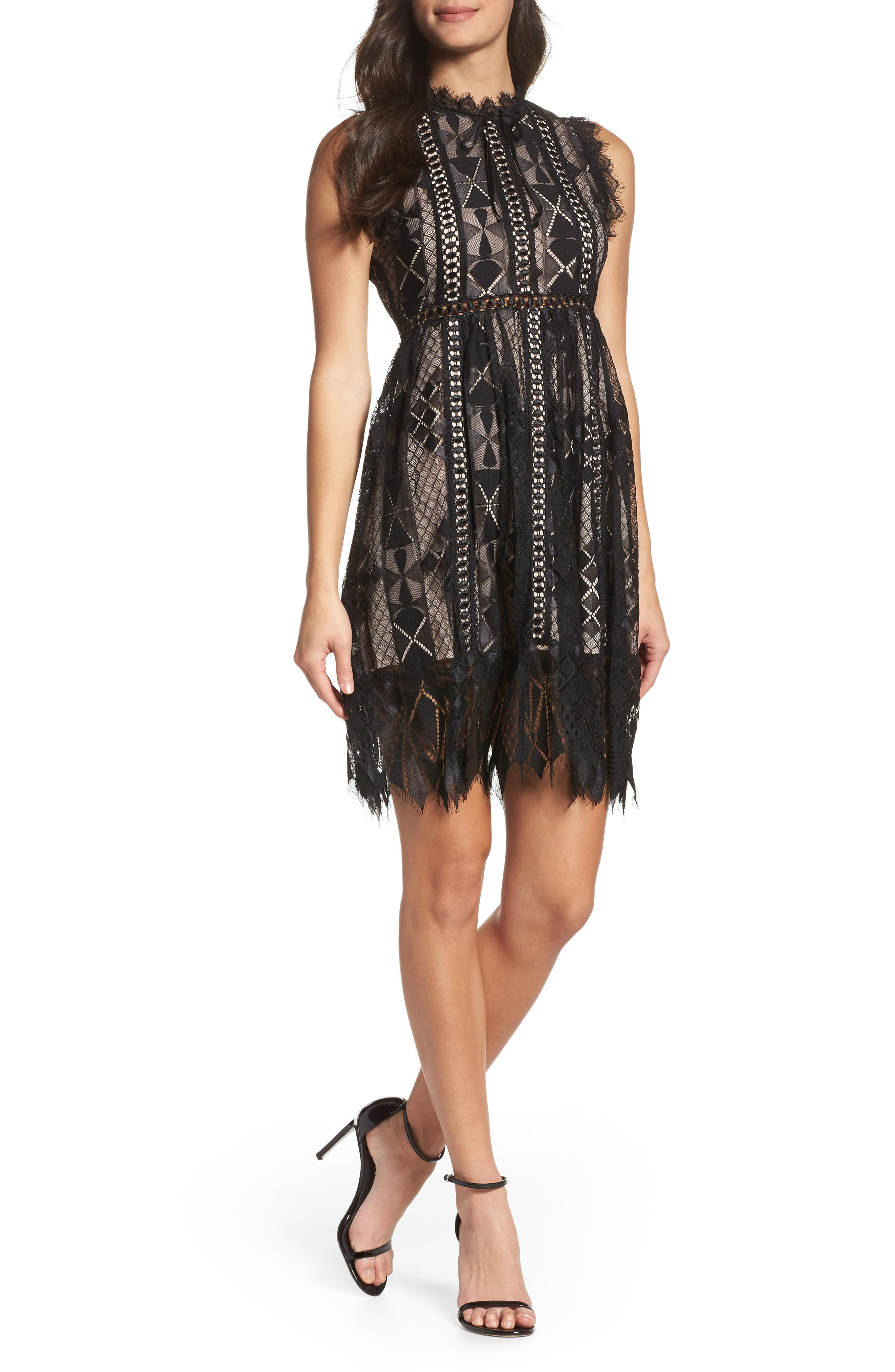 Alternate Image 1 Selected - Foxiedox Florence Frills Dress