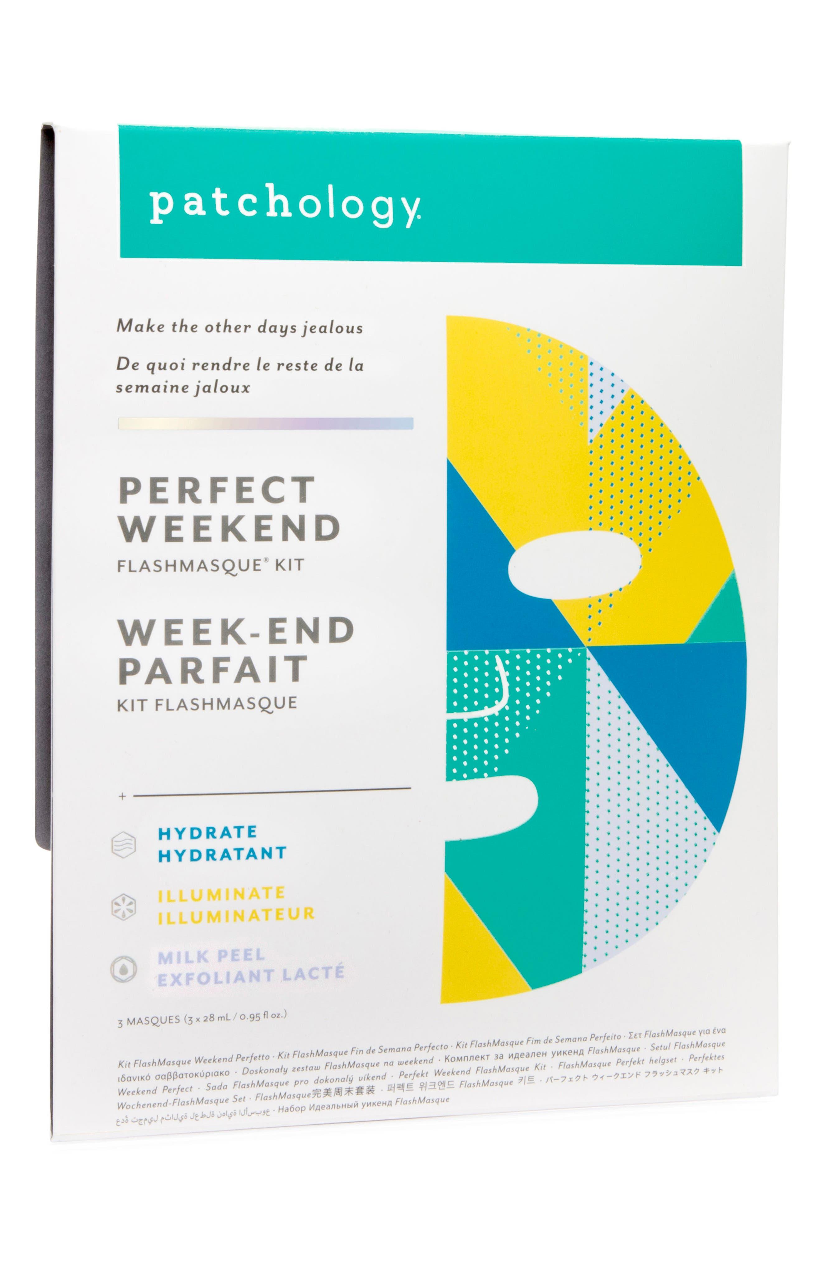 Perfect Weekend FlashMasque<sup>®</sup> Facial Sheets,                             Alternate thumbnail 3, color,                             No Color