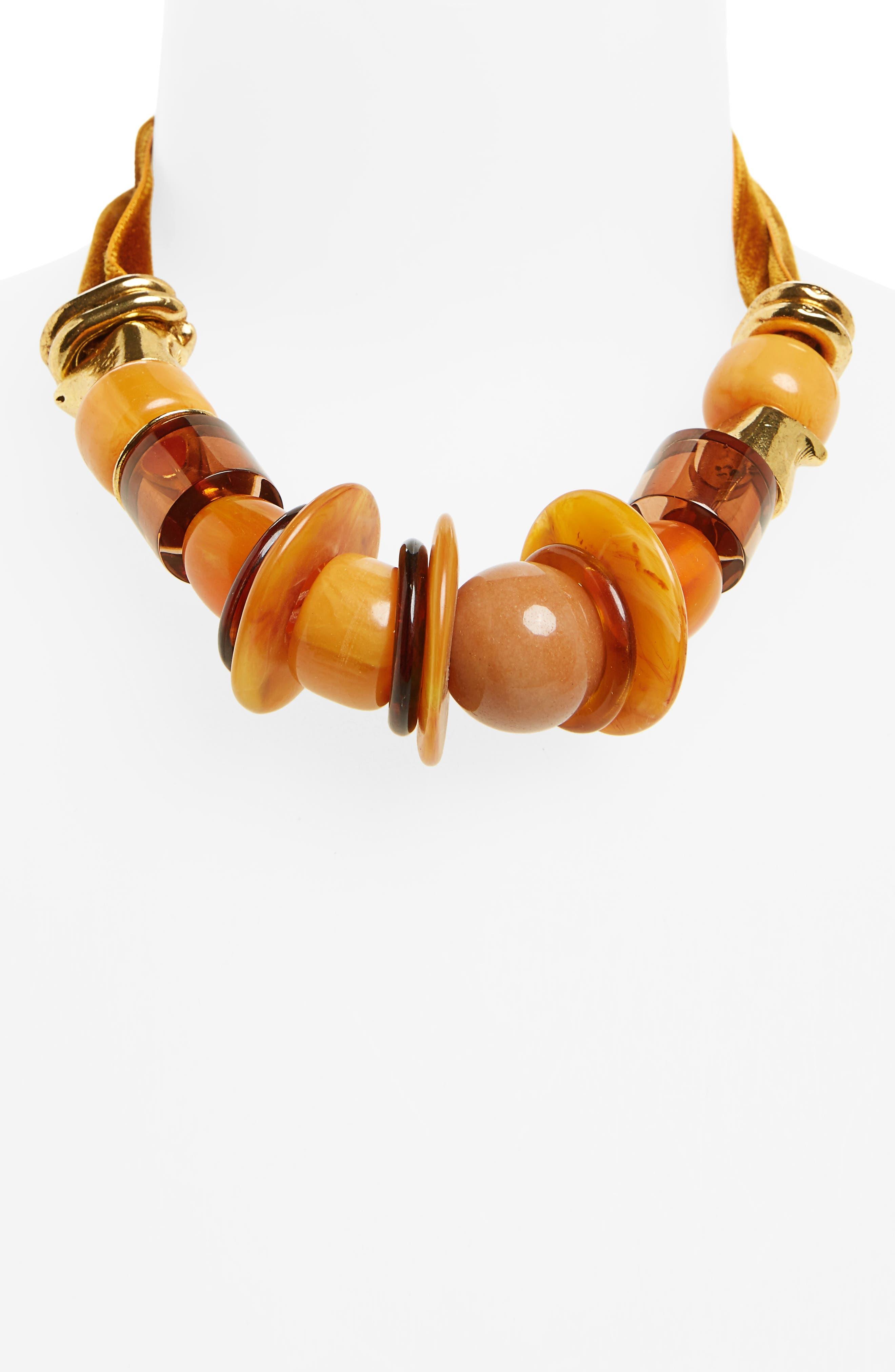 Alternate Image 2  - Lizzie Fortunato Amber Savanna Necklace