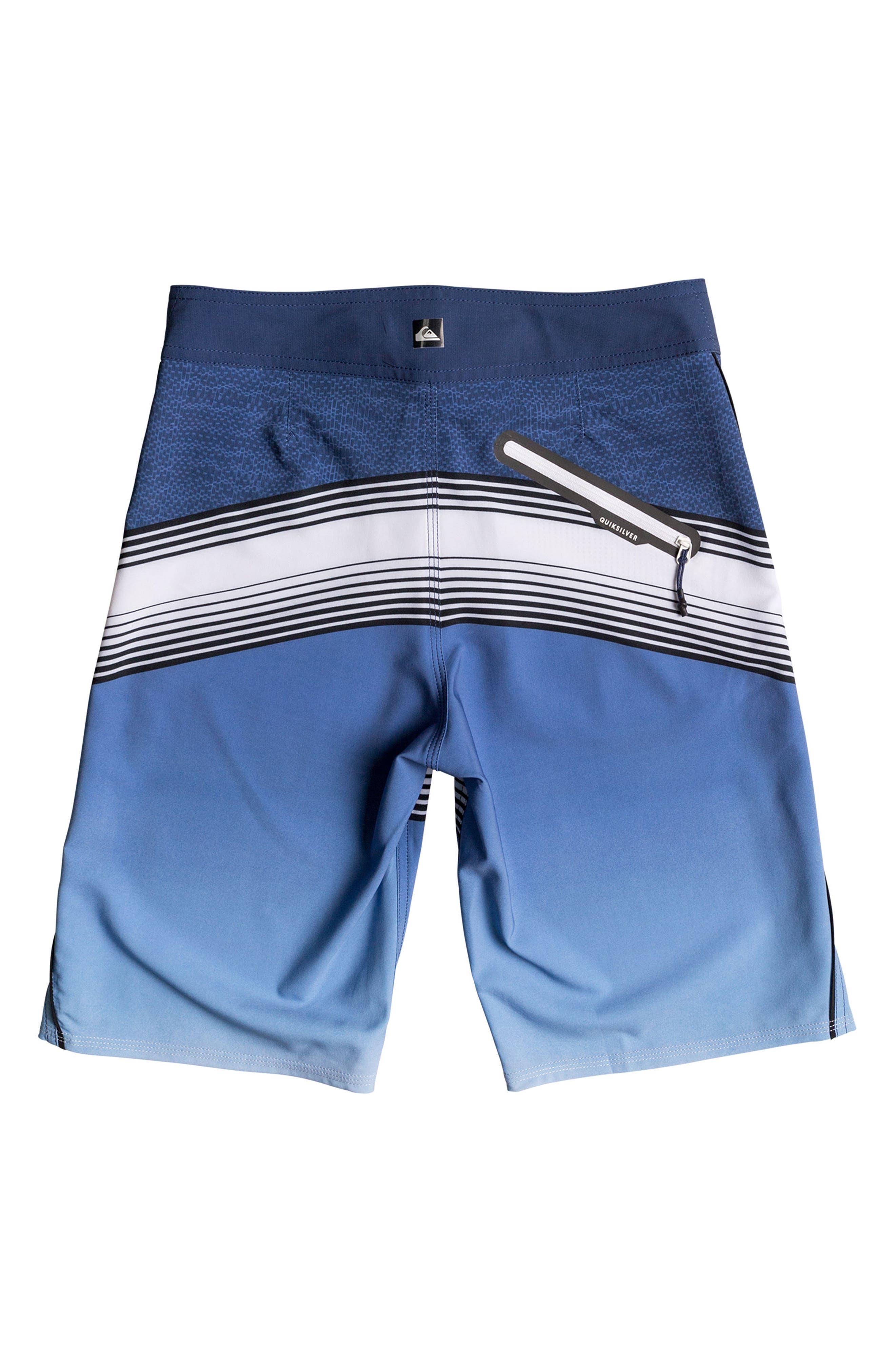 Alternate Image 2  - Quiksilver Division Fade Board Shorts (Big Boys)