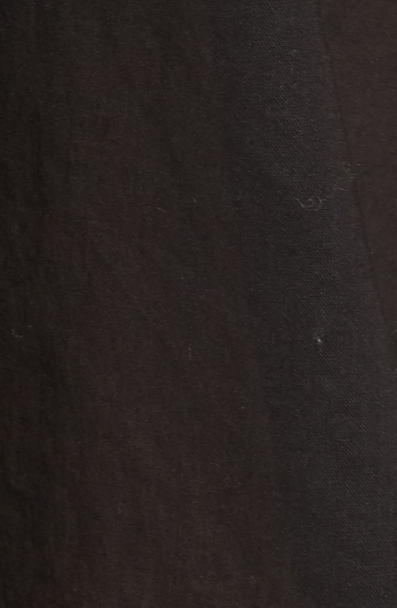 Ravena Cover-Up Caftan,                             Alternate thumbnail 5, color,                             Black