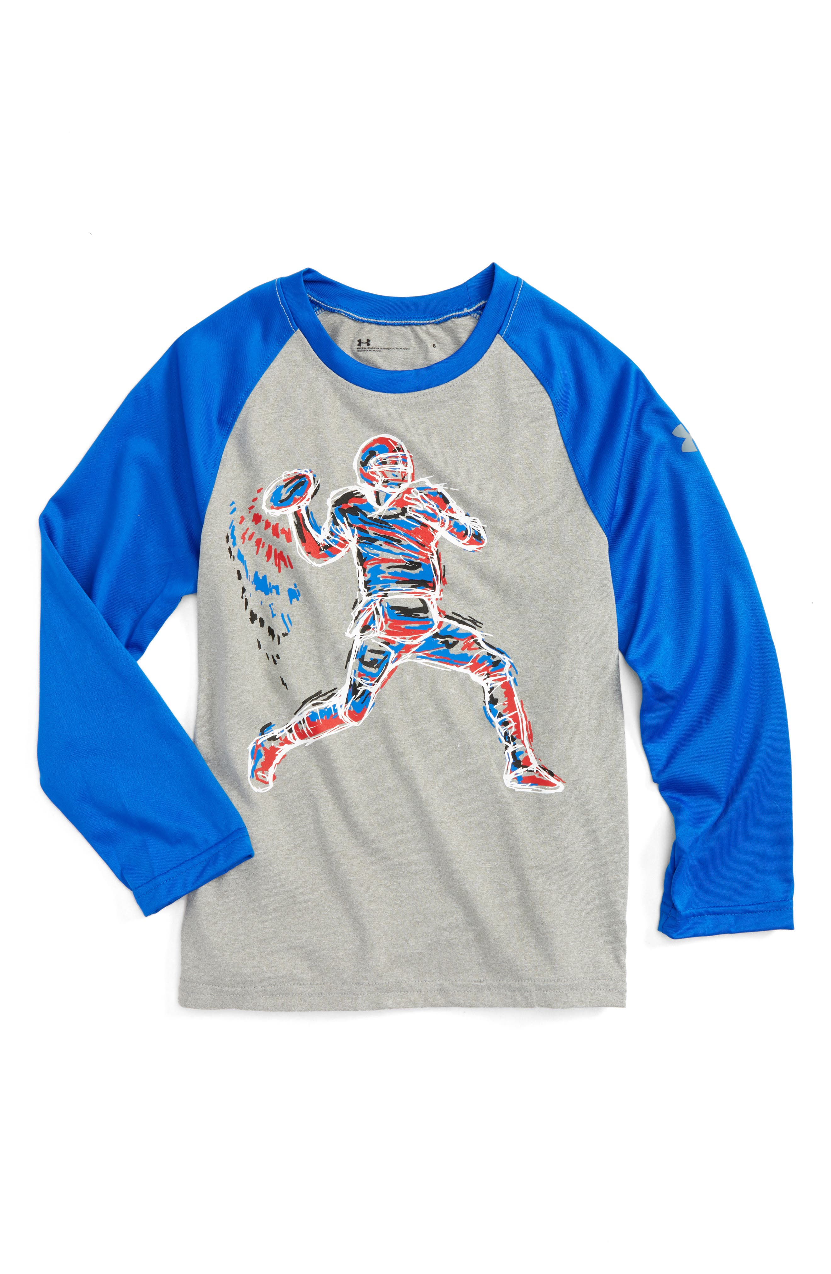 Under Armour Illuminated QB Glow in the Dark T-Shirt (Toddler Boys & Little Boys)