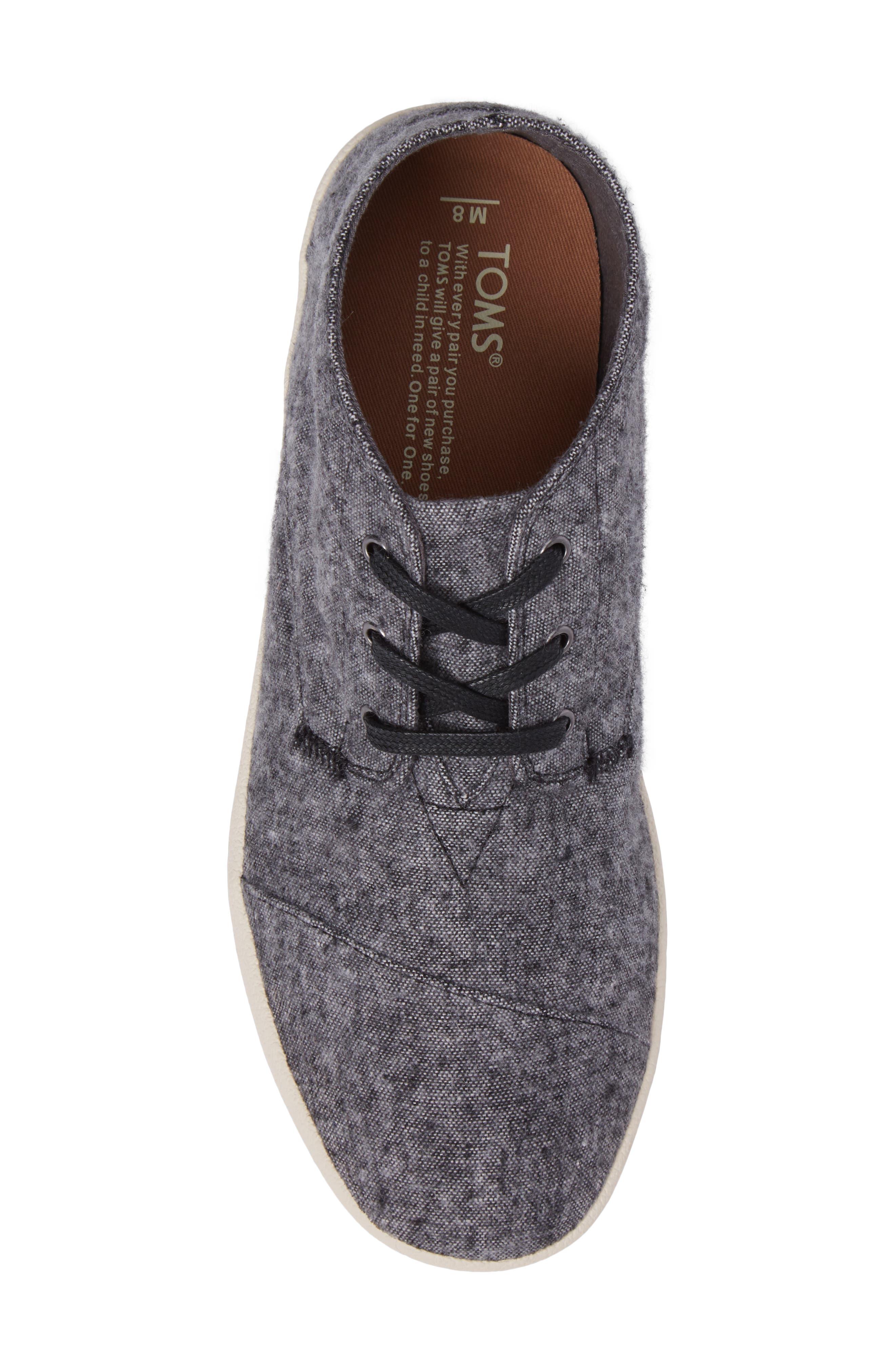 'Paseo Mid' Sneaker,                             Alternate thumbnail 4, color,                             Grey/Grey