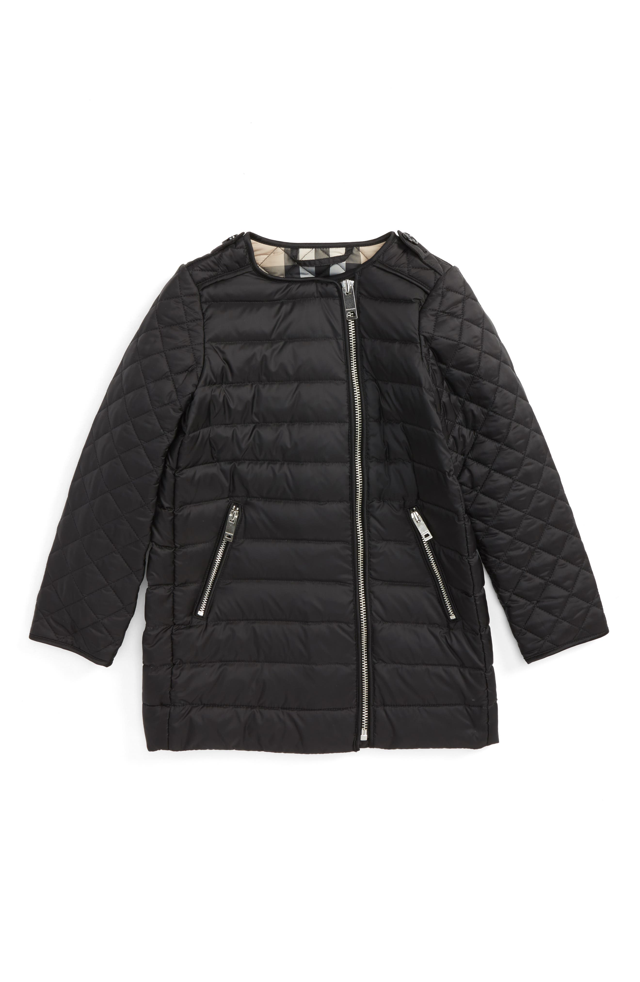 Burberry Elisa Quilted Down Coat (Little Girls & Big Girls)