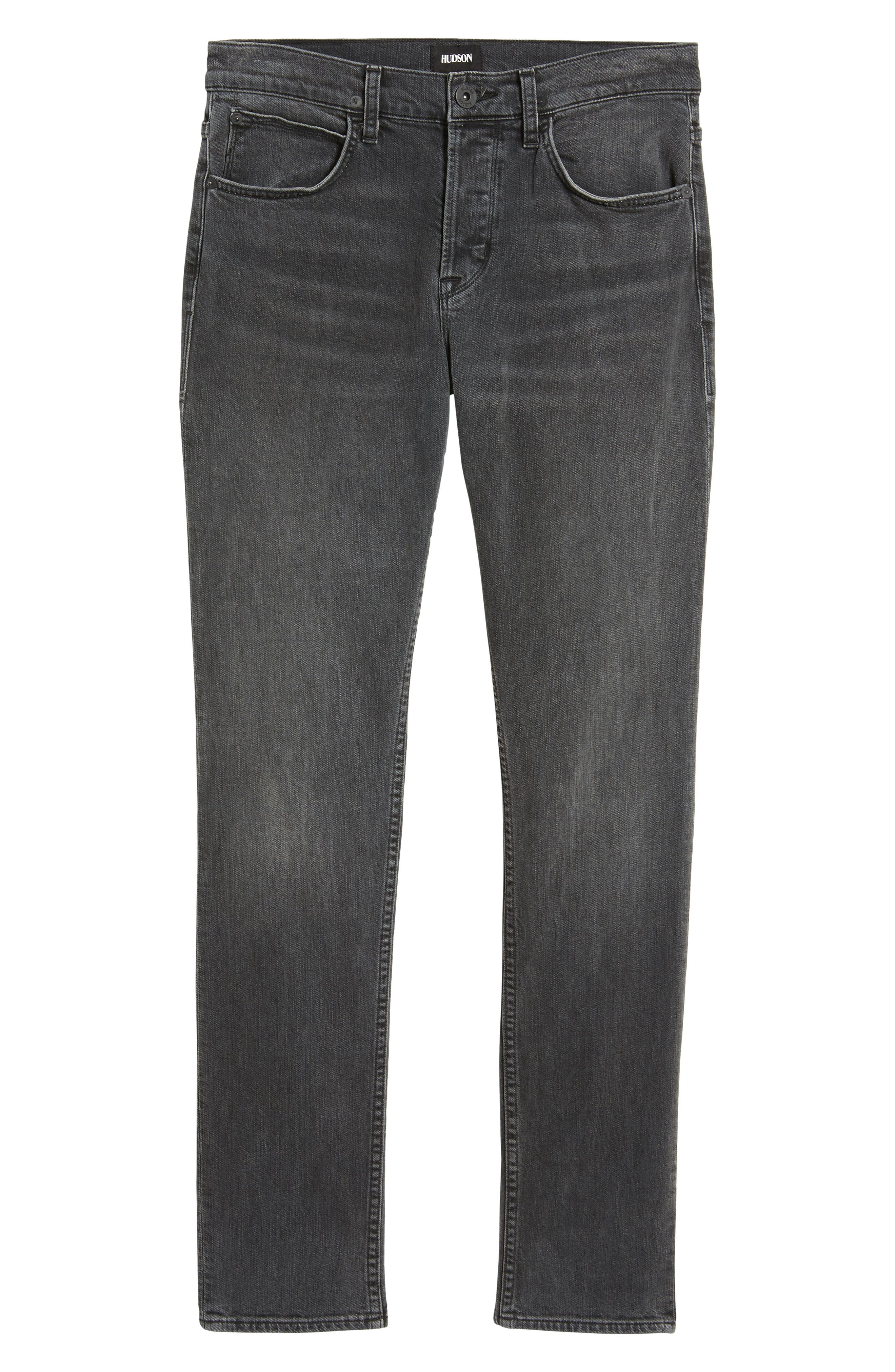 Axl Skinny Fit Jeans,                             Alternate thumbnail 6, color,                             Oxidize