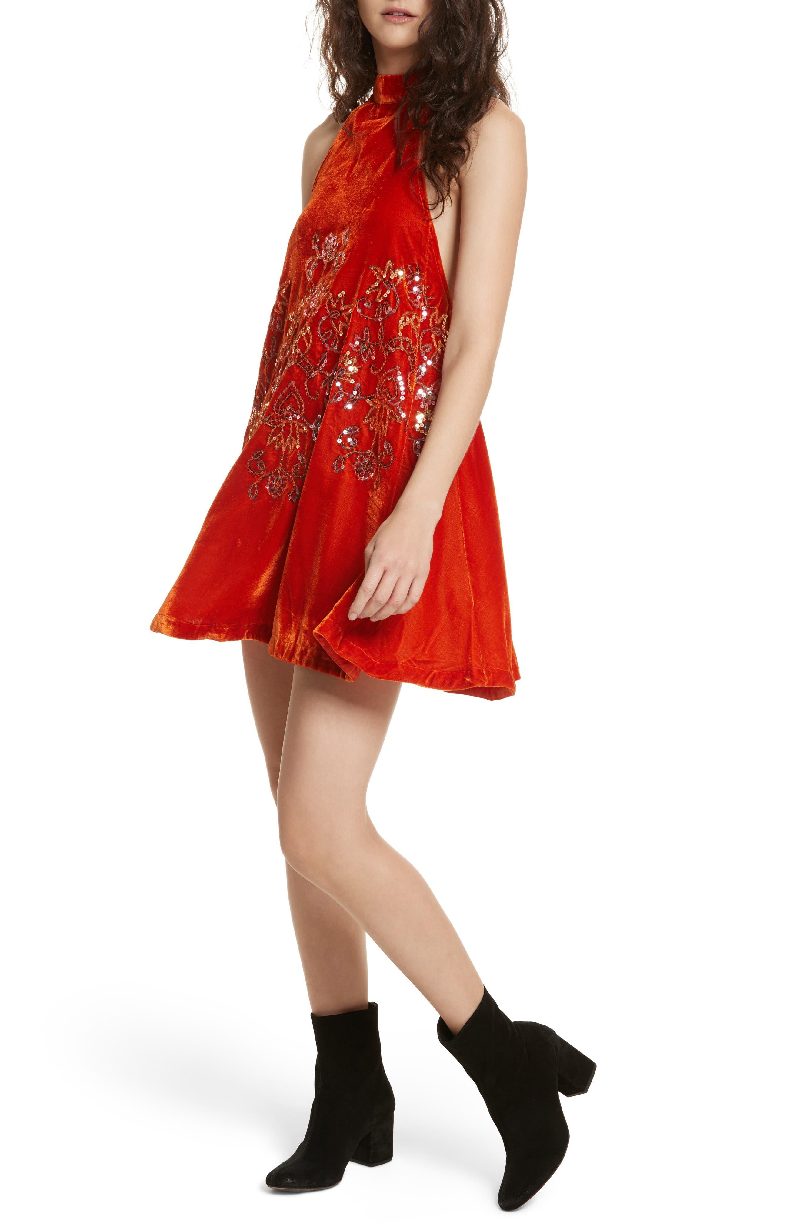 Free People Jill's Sequin Swing Dress