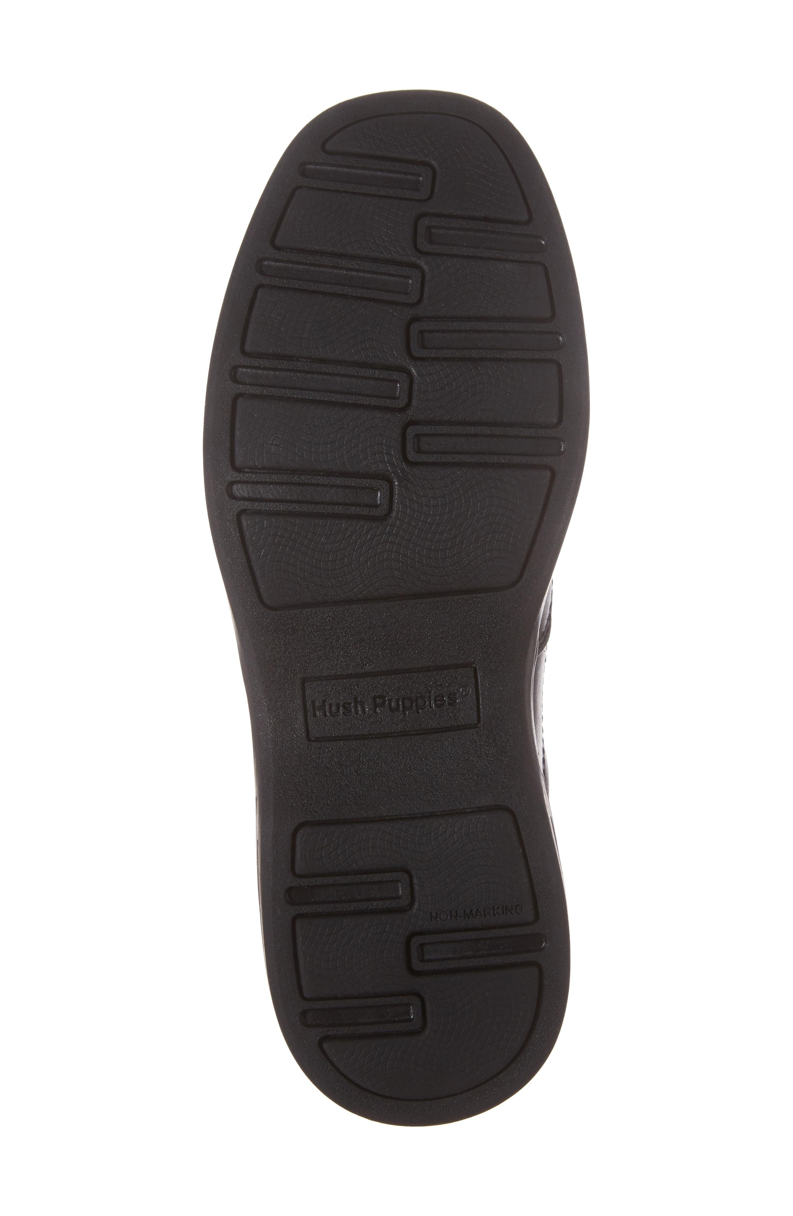 Shane Slip-On Dress Shoe,                             Alternate thumbnail 6, color,                             Black Leather