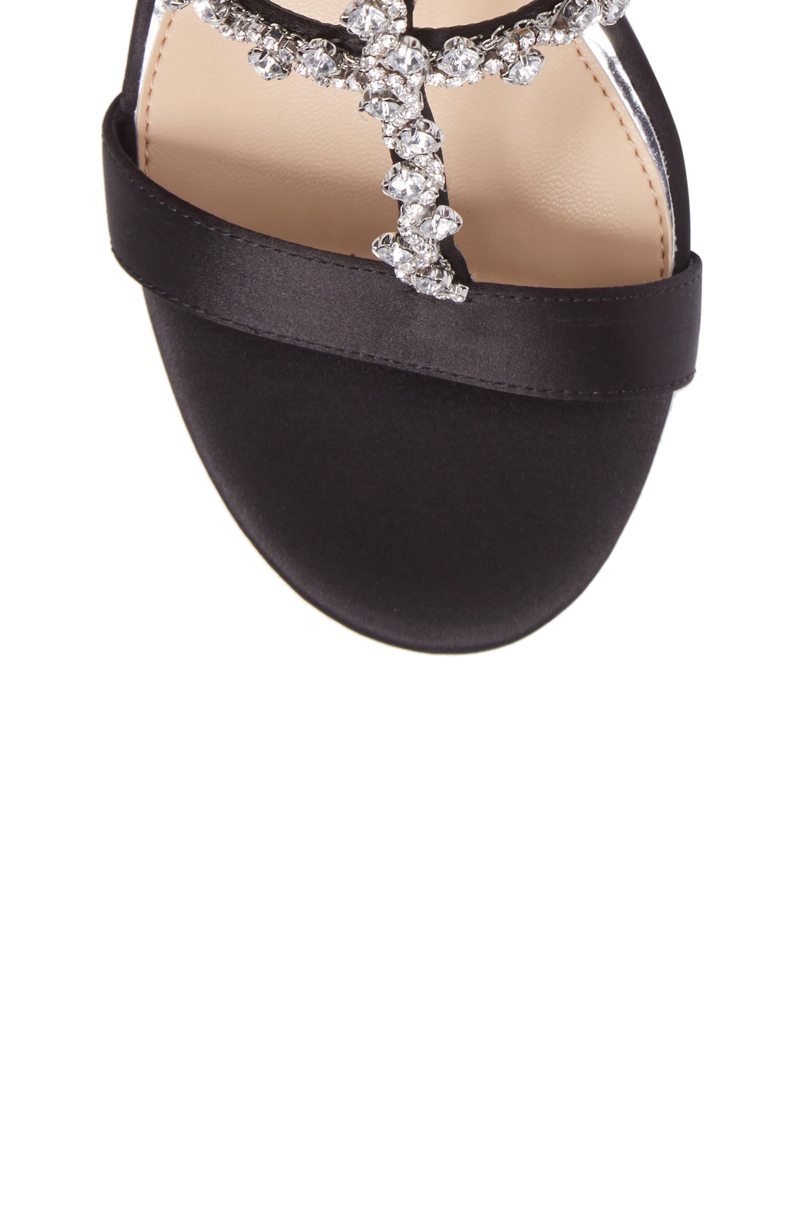 Alternate Image 5  - Jewel Badgley Mischka Alamea Block Heel Sandal (Women)