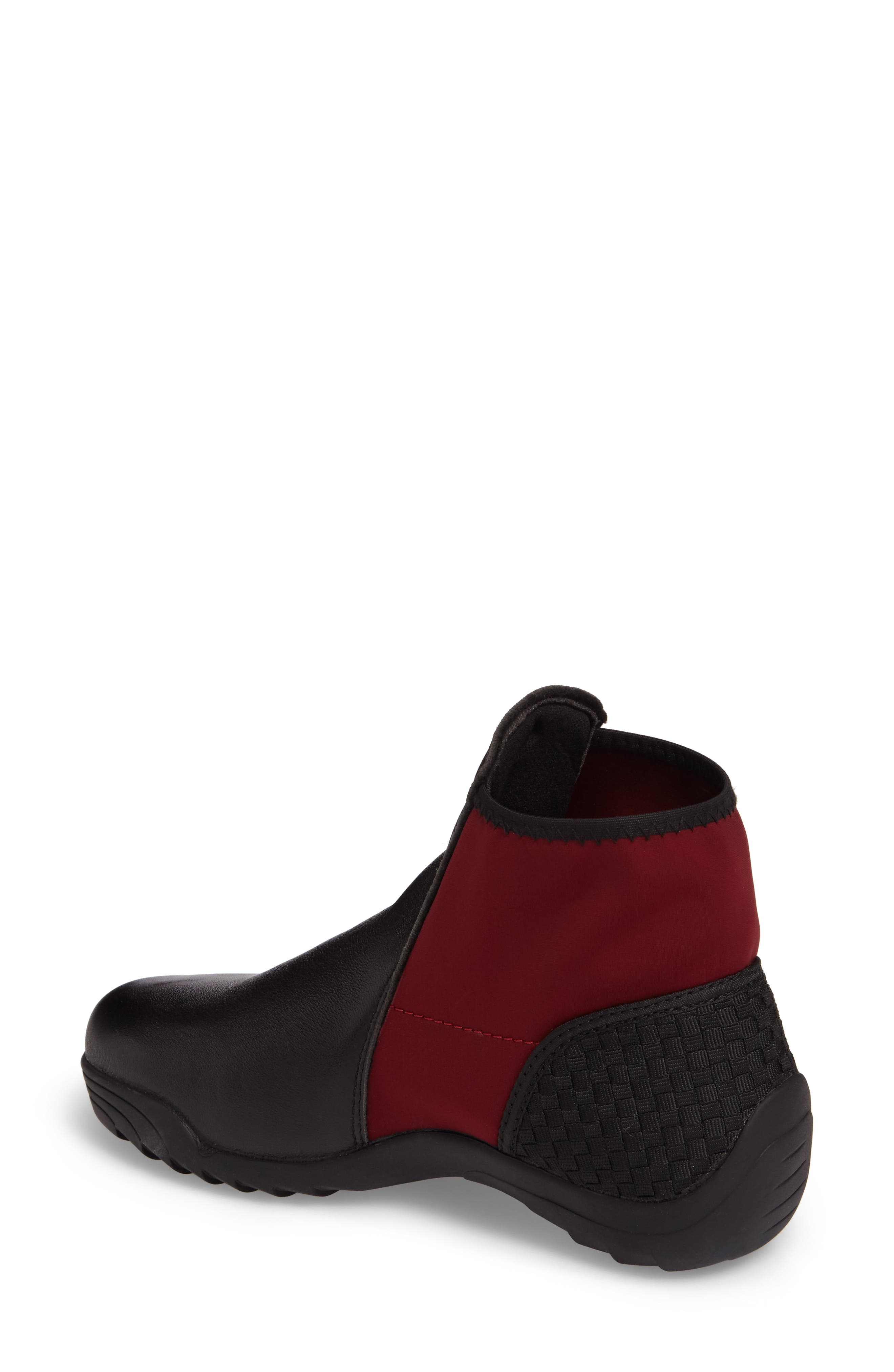 Rigged Force Sneaker,                             Alternate thumbnail 2, color,                             Burgundy Leather