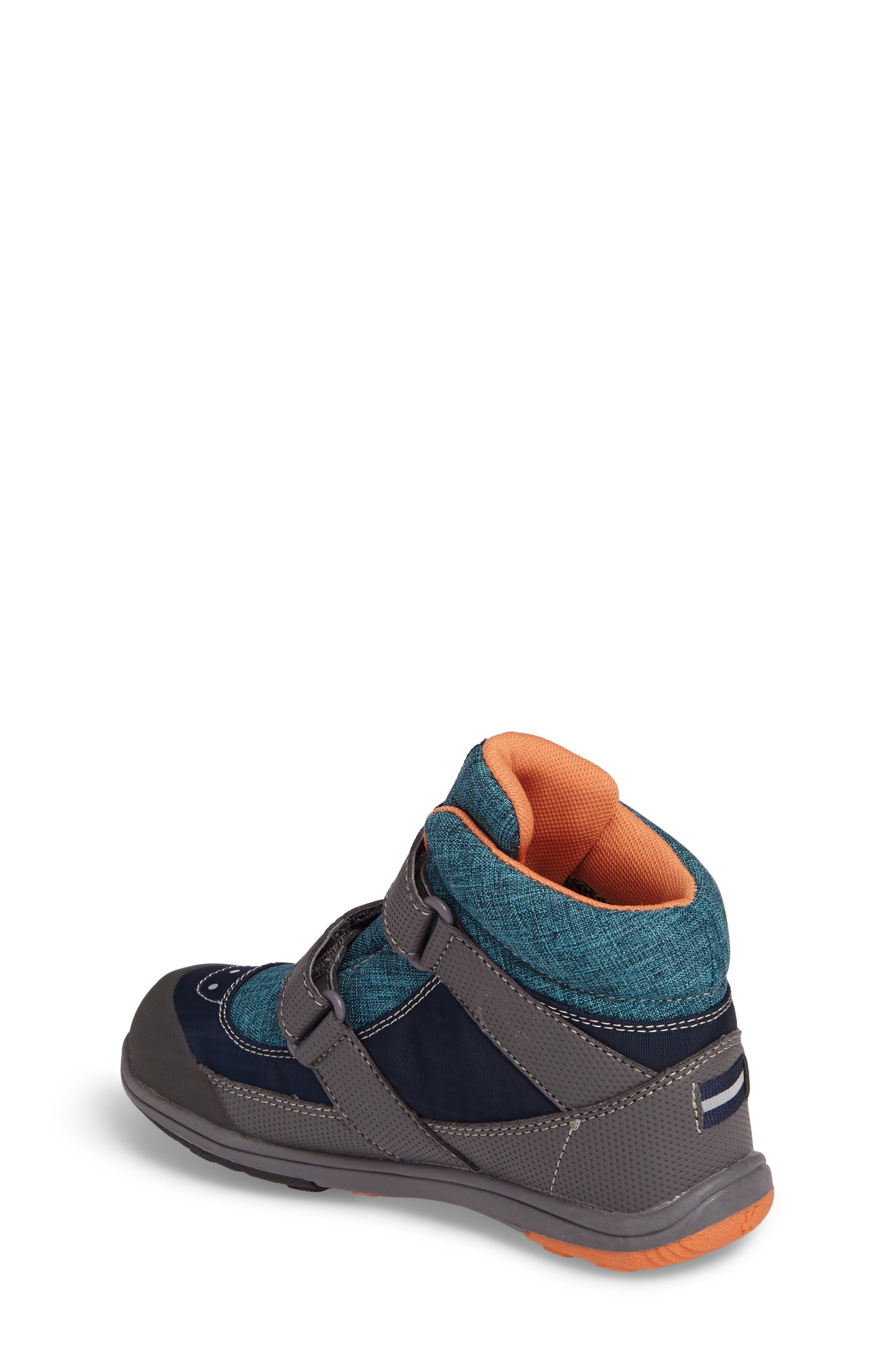 'Atlas' Waterproof Boot,                             Alternate thumbnail 2, color,                             Blue