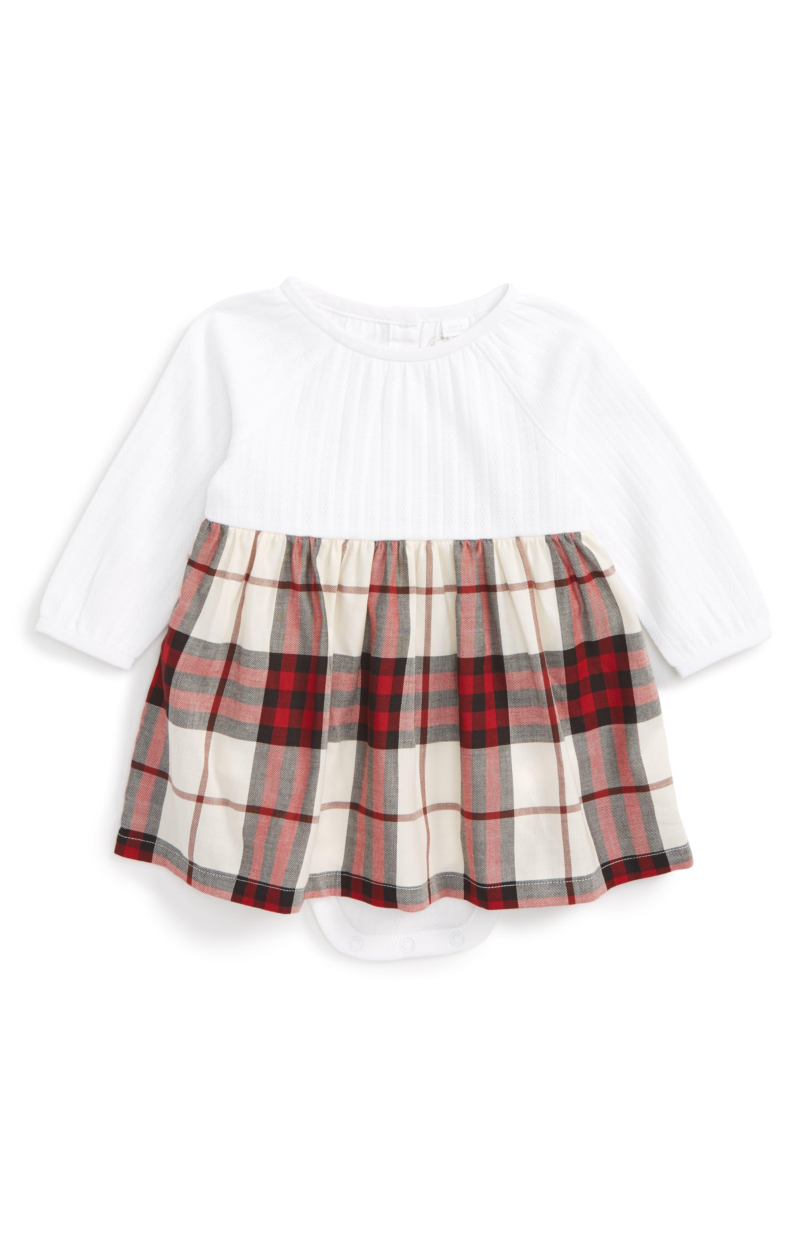 Burberry Jaine Bodysuit (Baby Girls)