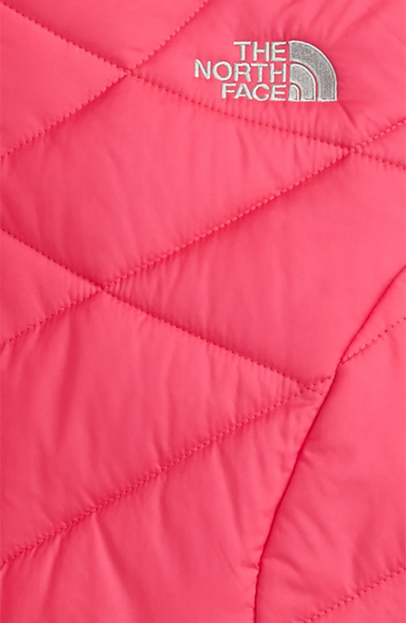 Alternate Image 3  - The North Face Perrito Reversible Hooded Jacket (Little Girls & Big GIrls)