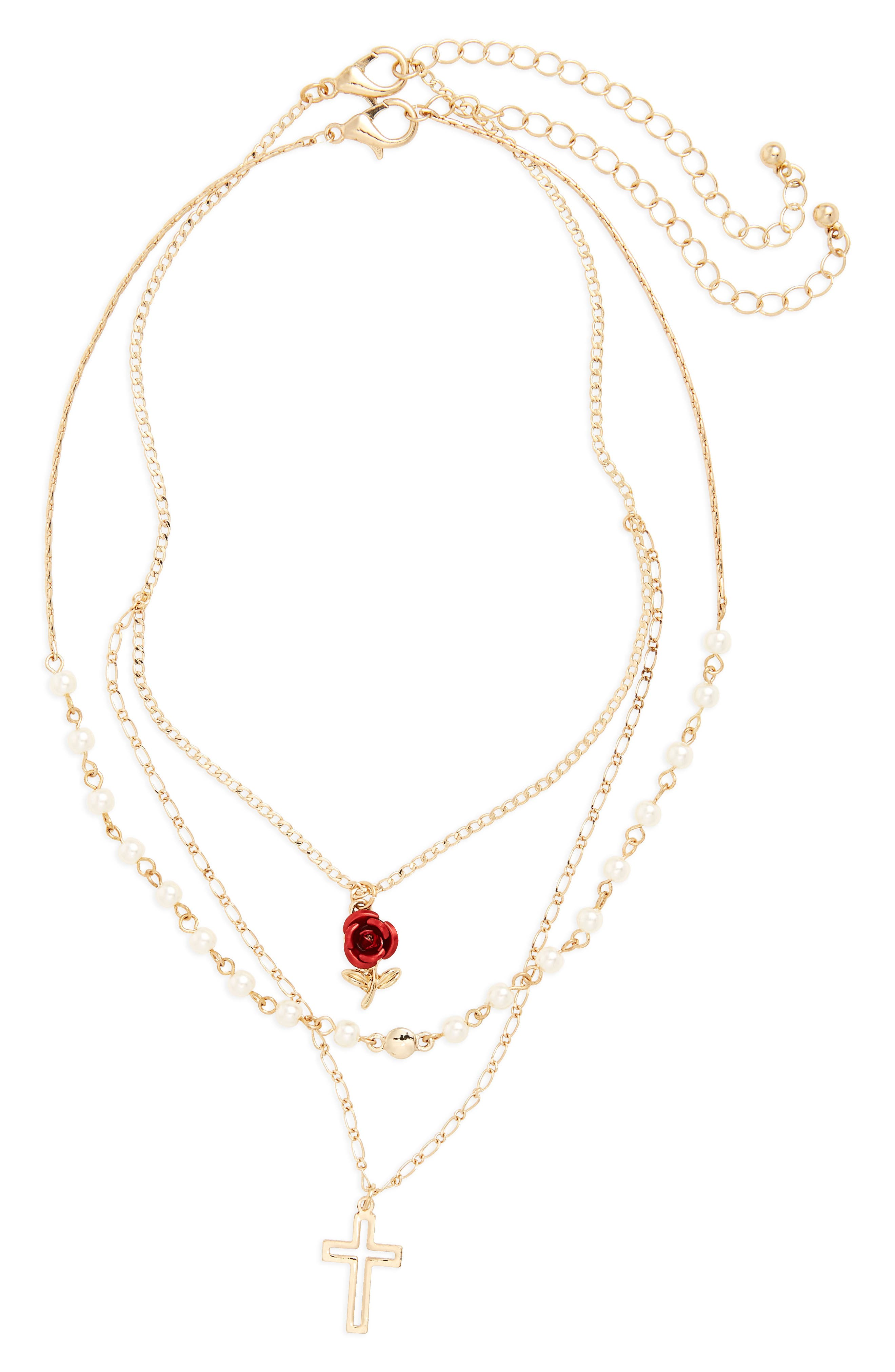 BP. 2-Pack Charm Necklaces