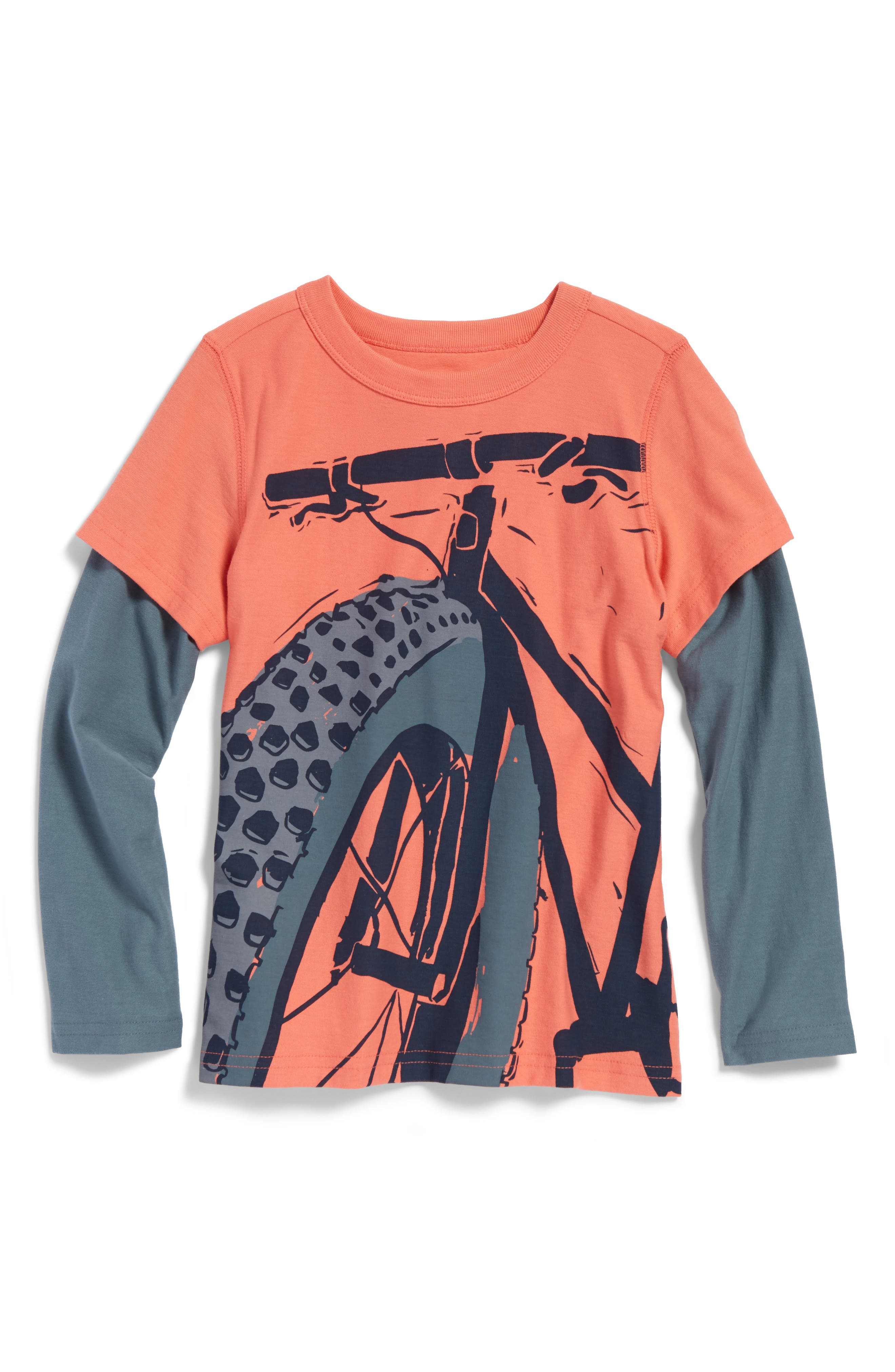 Tea Collection Fat Bike Graphic T-Shirt (Toddler Boys & Little Boys)