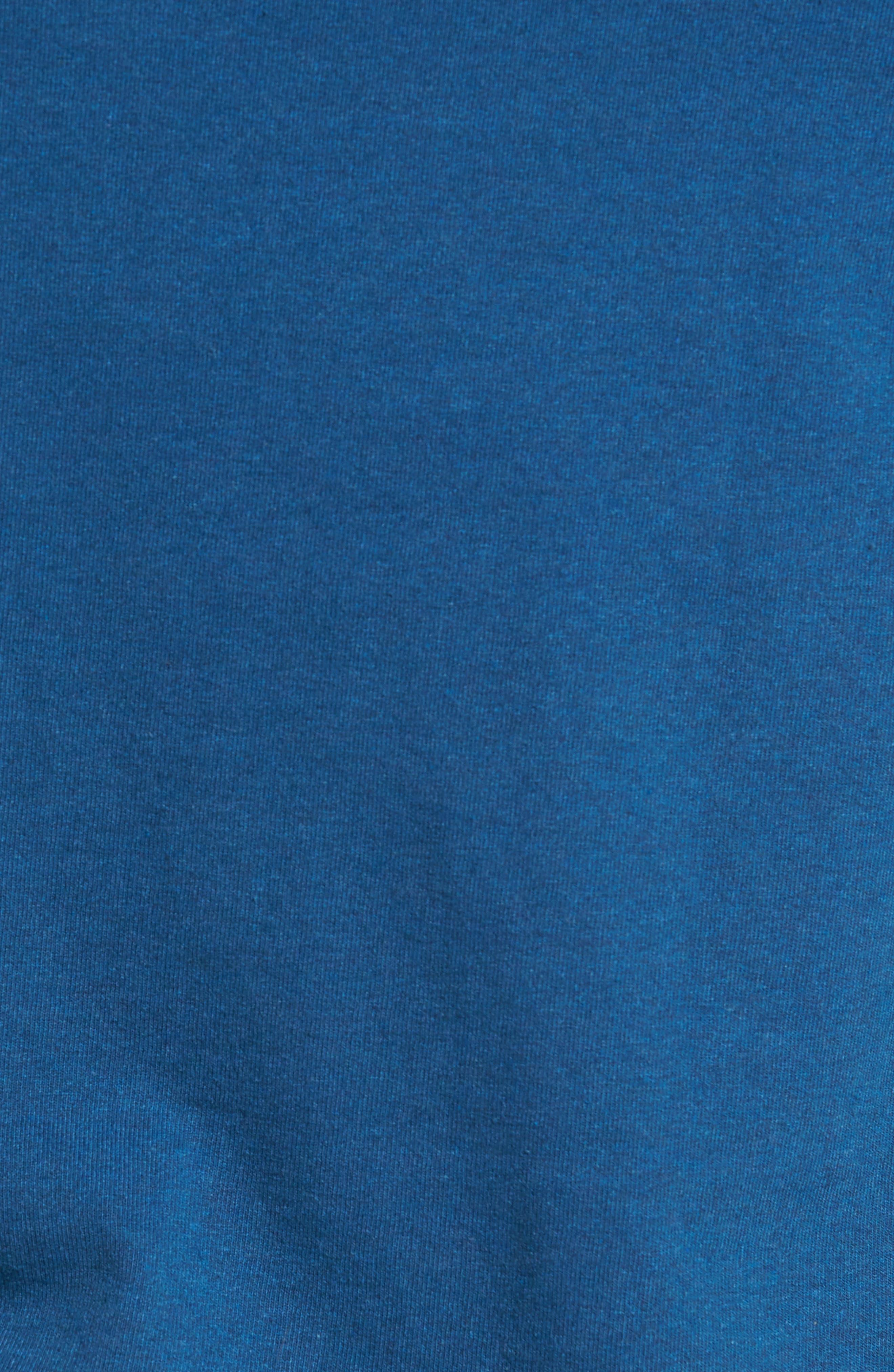 Line Regular Fit Logo T-Shirt,                             Alternate thumbnail 5, color,                             Glass Blue