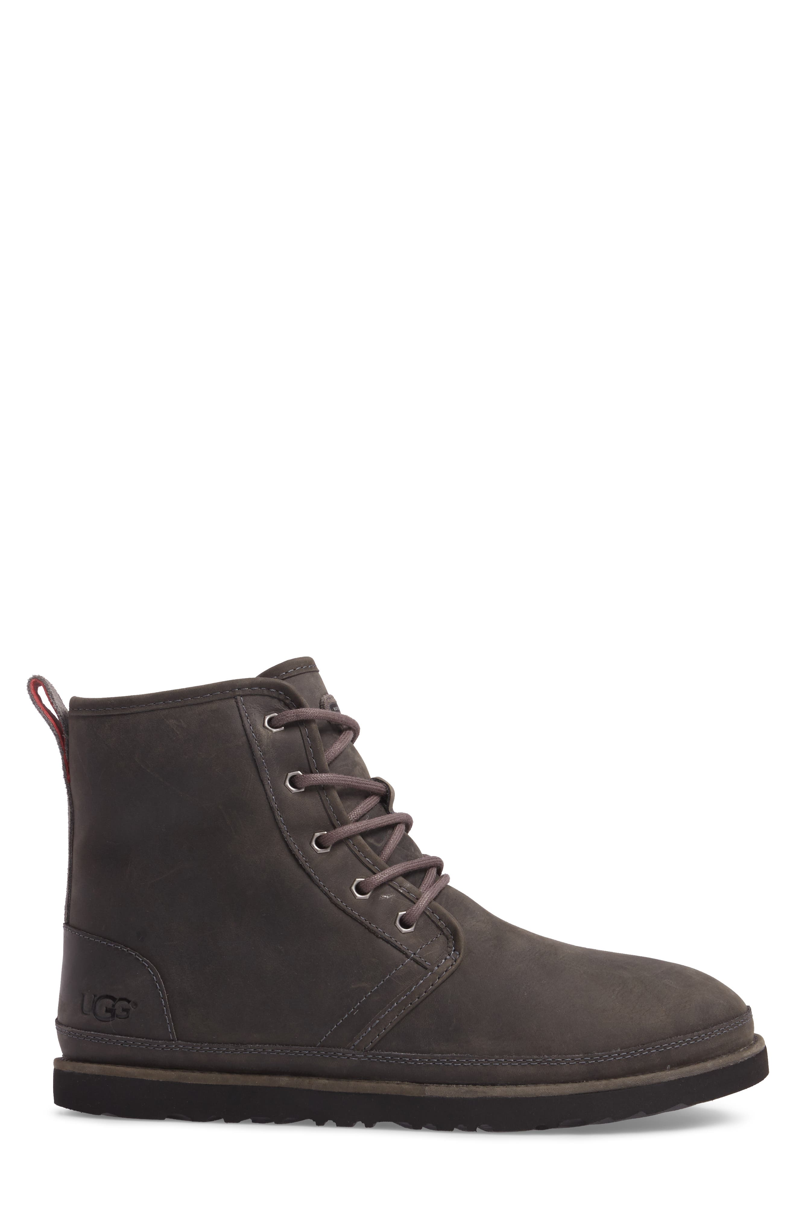 Harkley Plain Toe Boot,                             Alternate thumbnail 3, color,                             Charcoal