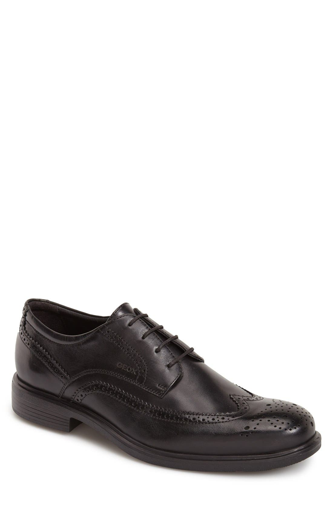 'Dublin 4' Wingtip,                         Main,                         color, Black