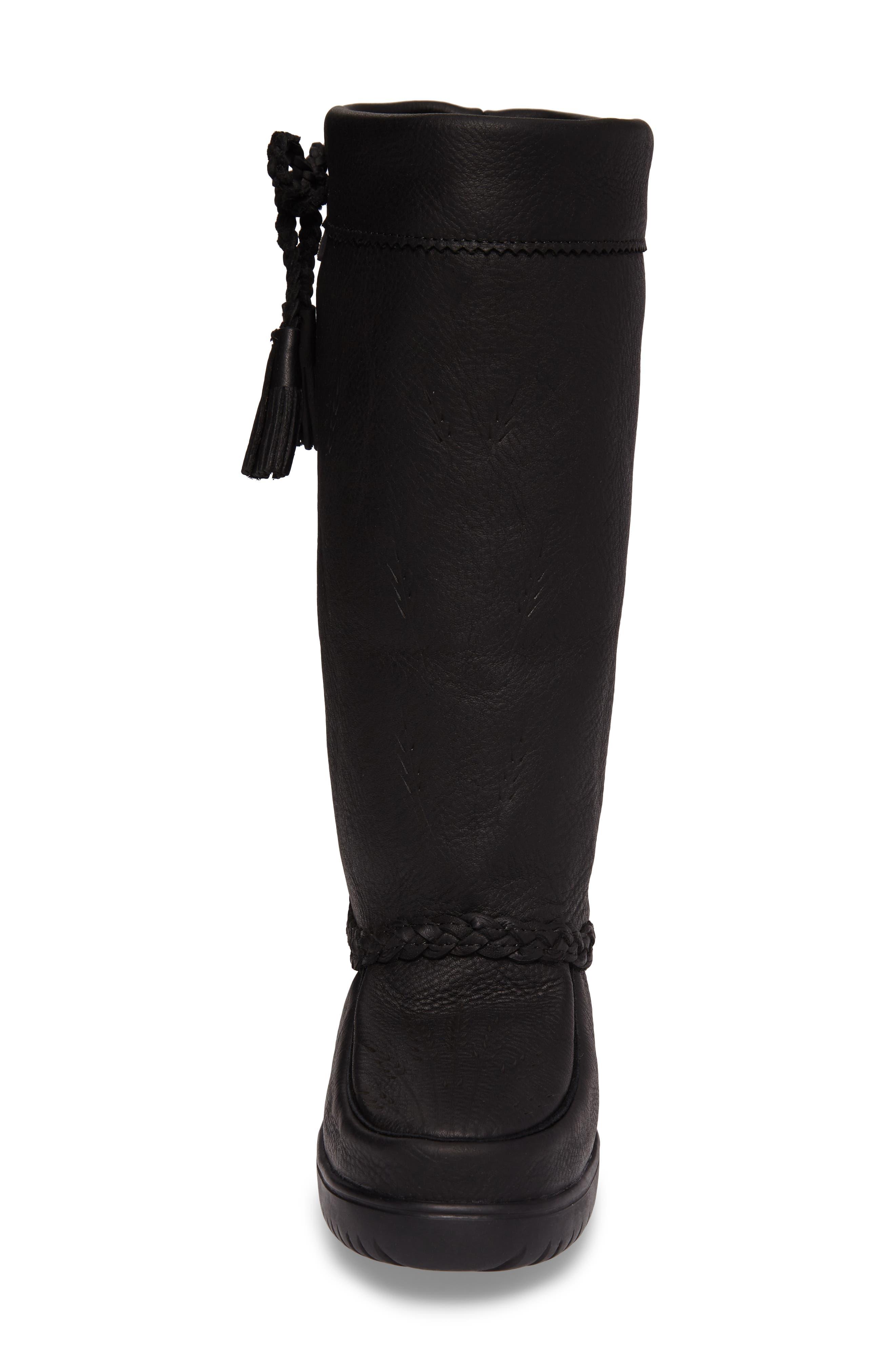 Alternate Image 4  - Manitobah Mukluks Tamarack Waterproof Genuine Shearling Boot (Women) (Wide Calf)